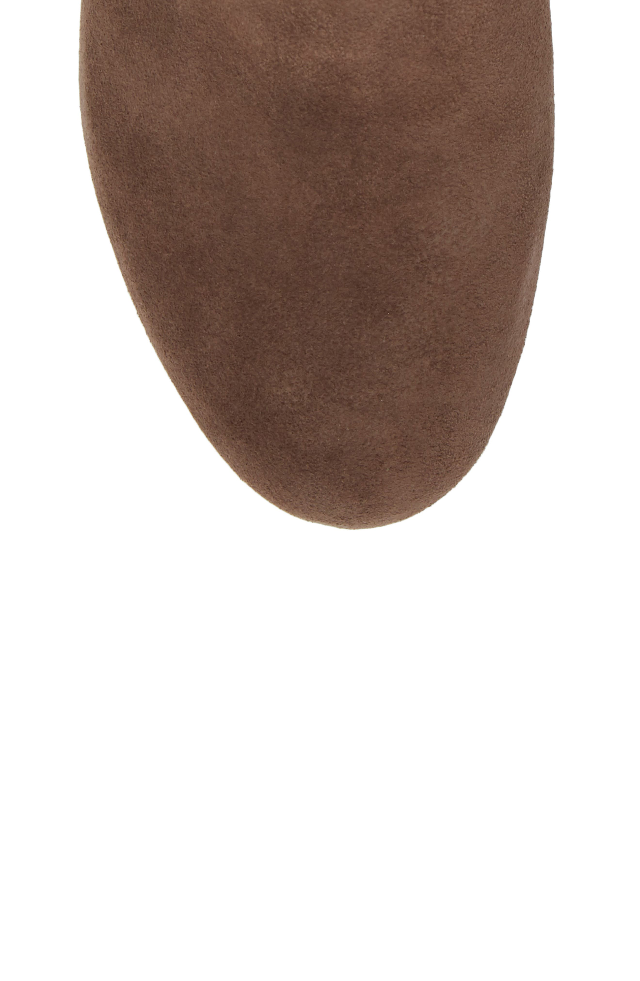 by Kenneth Cole Vicki Wedge Bootie,                             Alternate thumbnail 4, color,                             Dark Brown Suede
