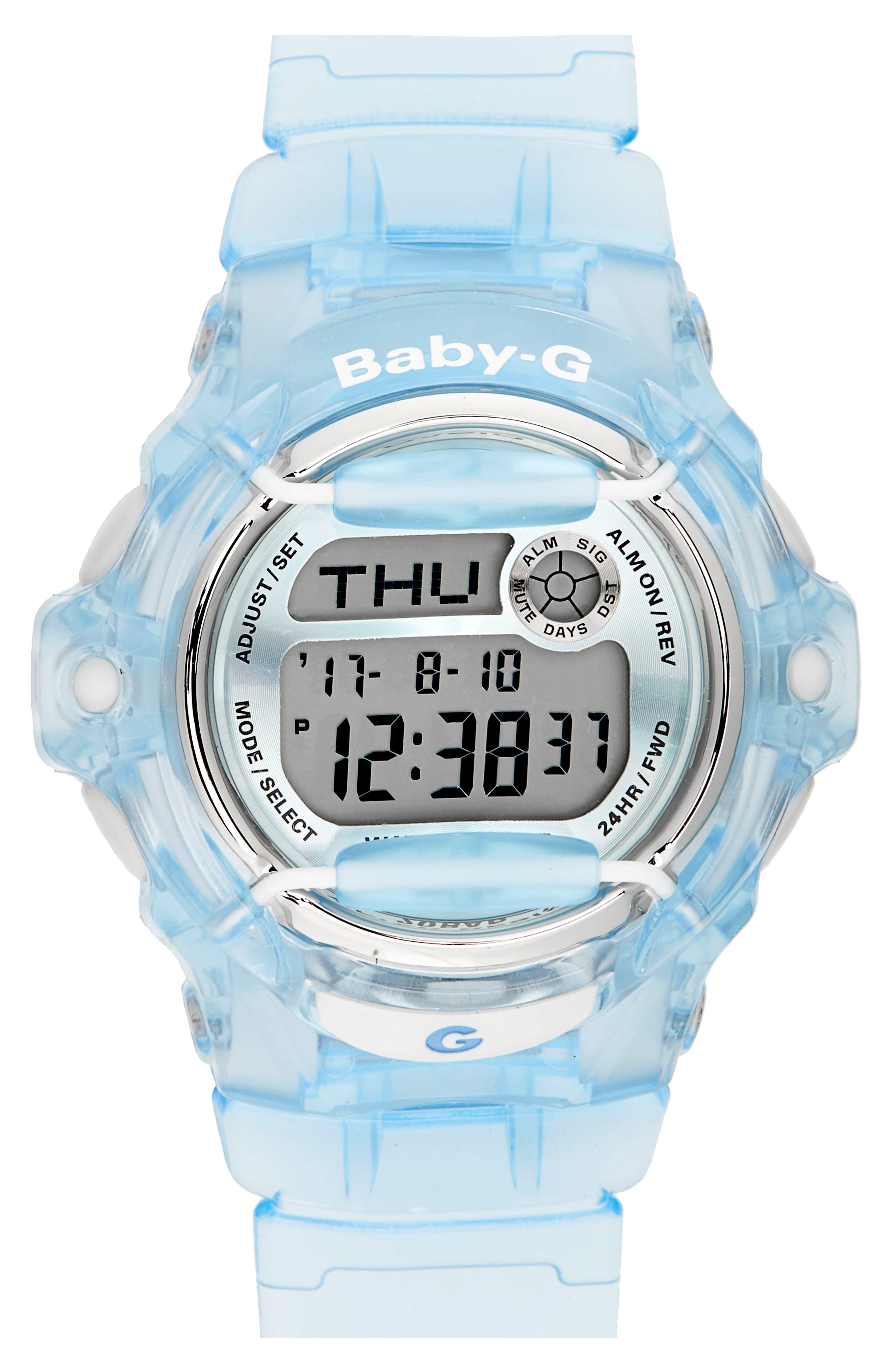 G-Shock Baby-G Ana-Digi Resin Strap Watch, 42mm
