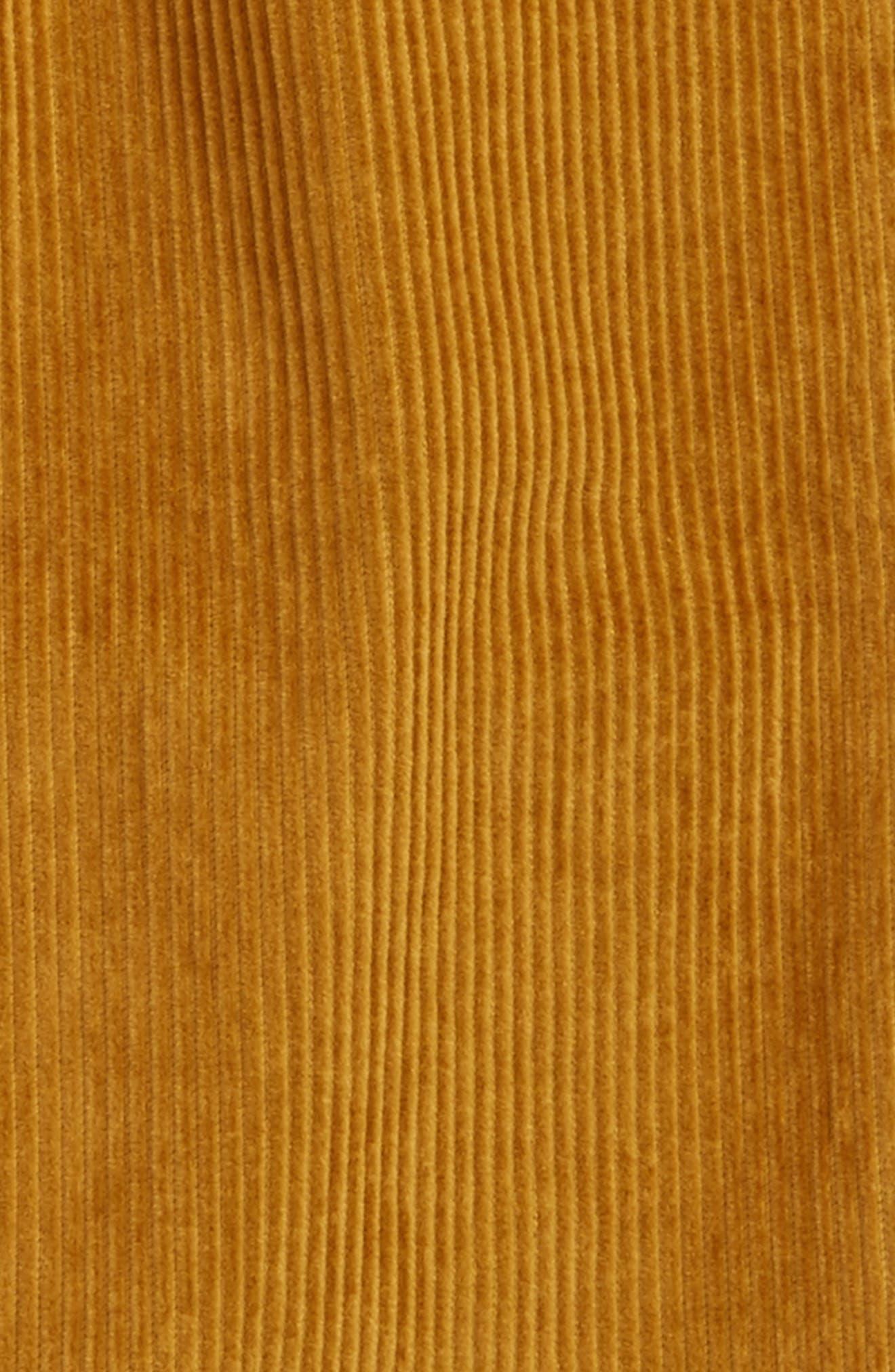 Corduroy Pants,                             Alternate thumbnail 2, color,                             Classic Gold