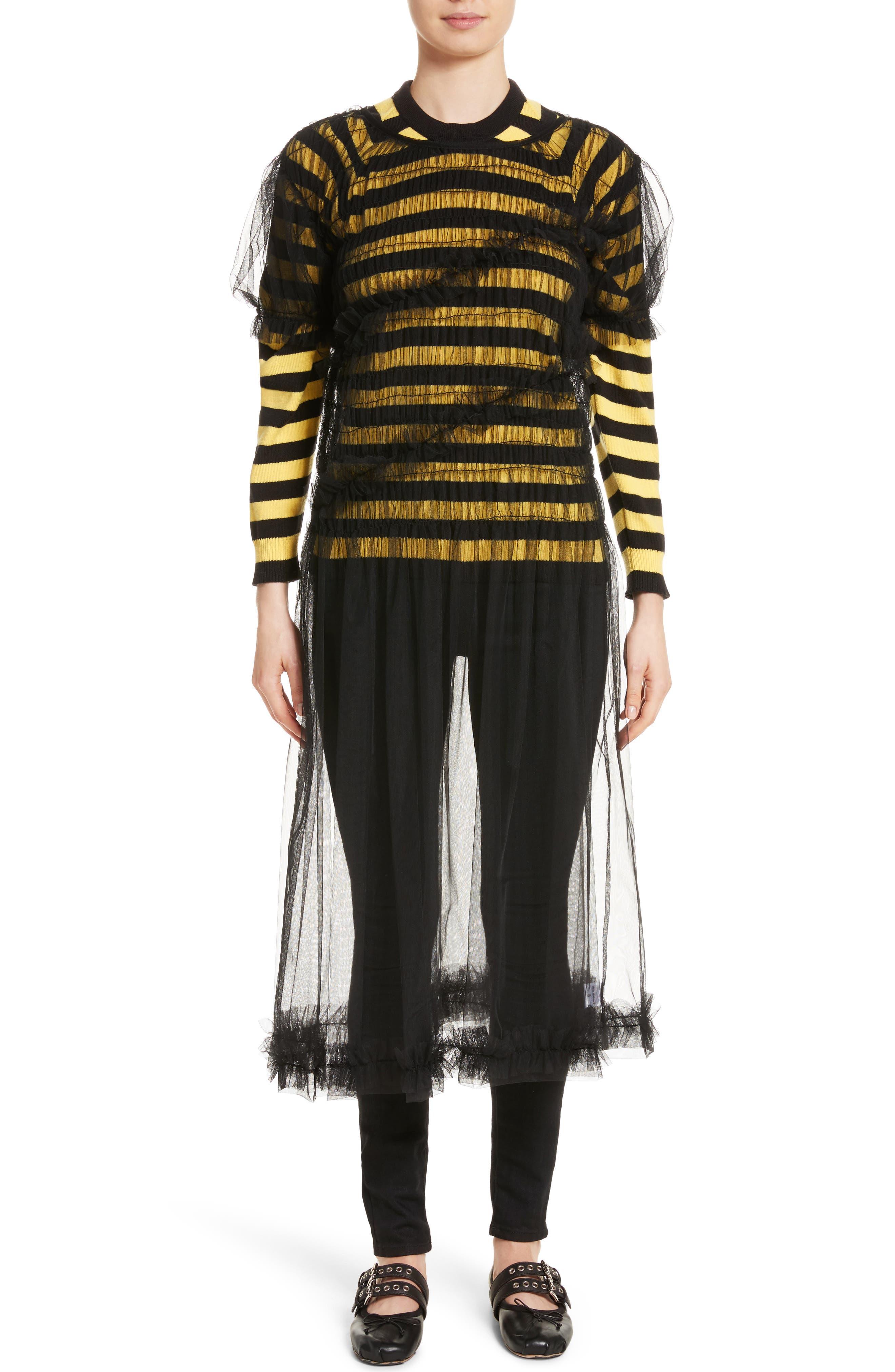 Alternate Image 1 Selected - Molly Goddard Emily Tulle Dress