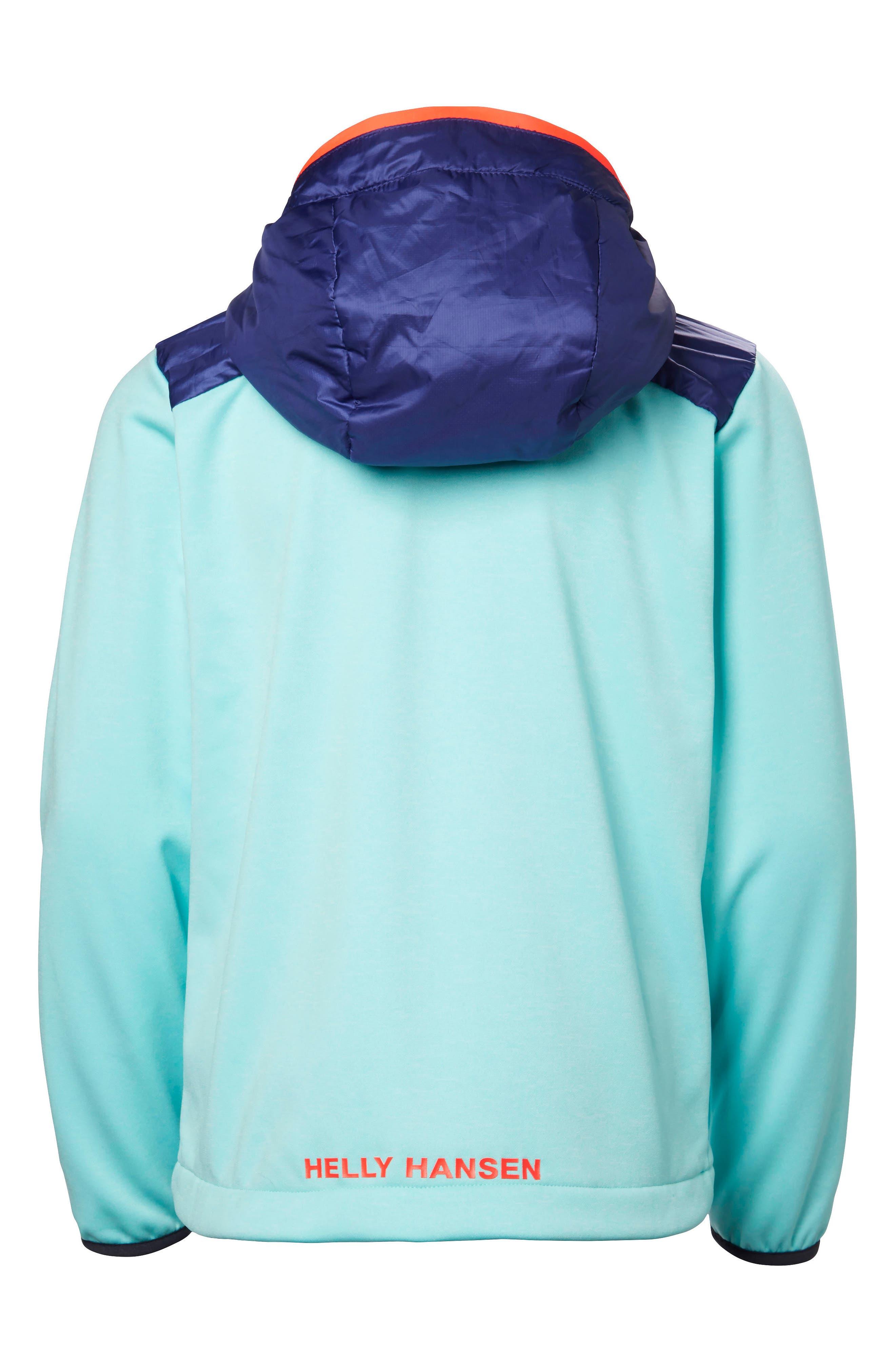 Alternate Image 2  - Helly Hansen Hybrid Midlayer Jacket (Big Girls)