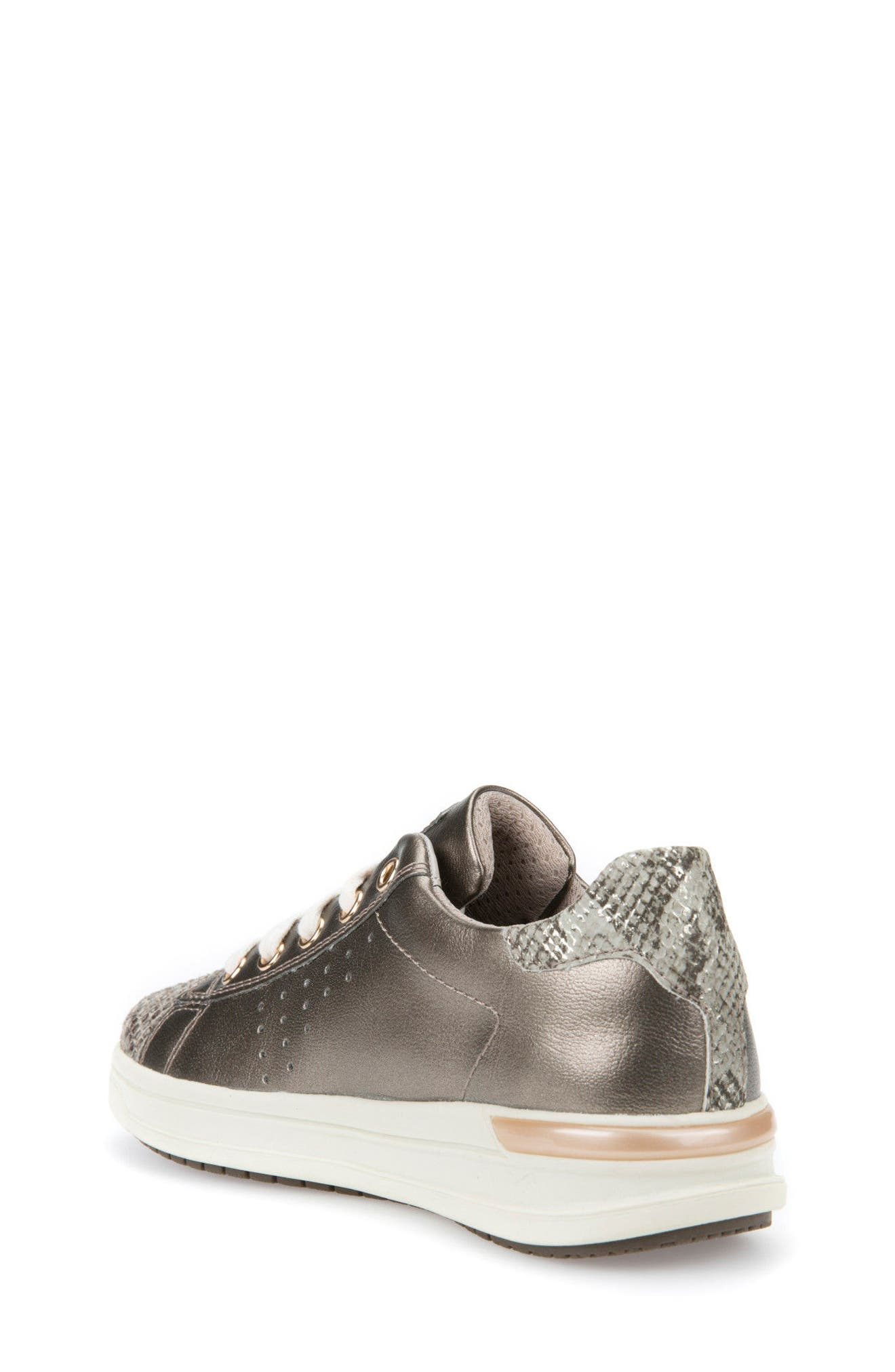 Cave Up Girl Low Top Sneaker,                             Alternate thumbnail 2, color,                             Gold