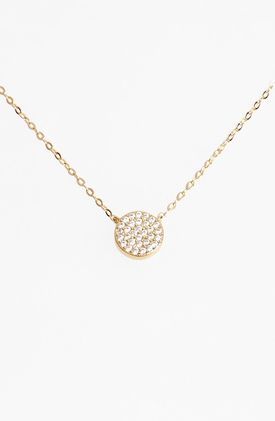 Nadri 'Geo' Small Pendant Necklace