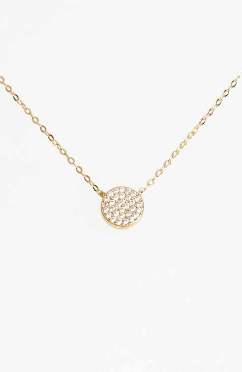 Nadri necklaces for women nordstrom nadri geo small pendant necklace aloadofball Image collections