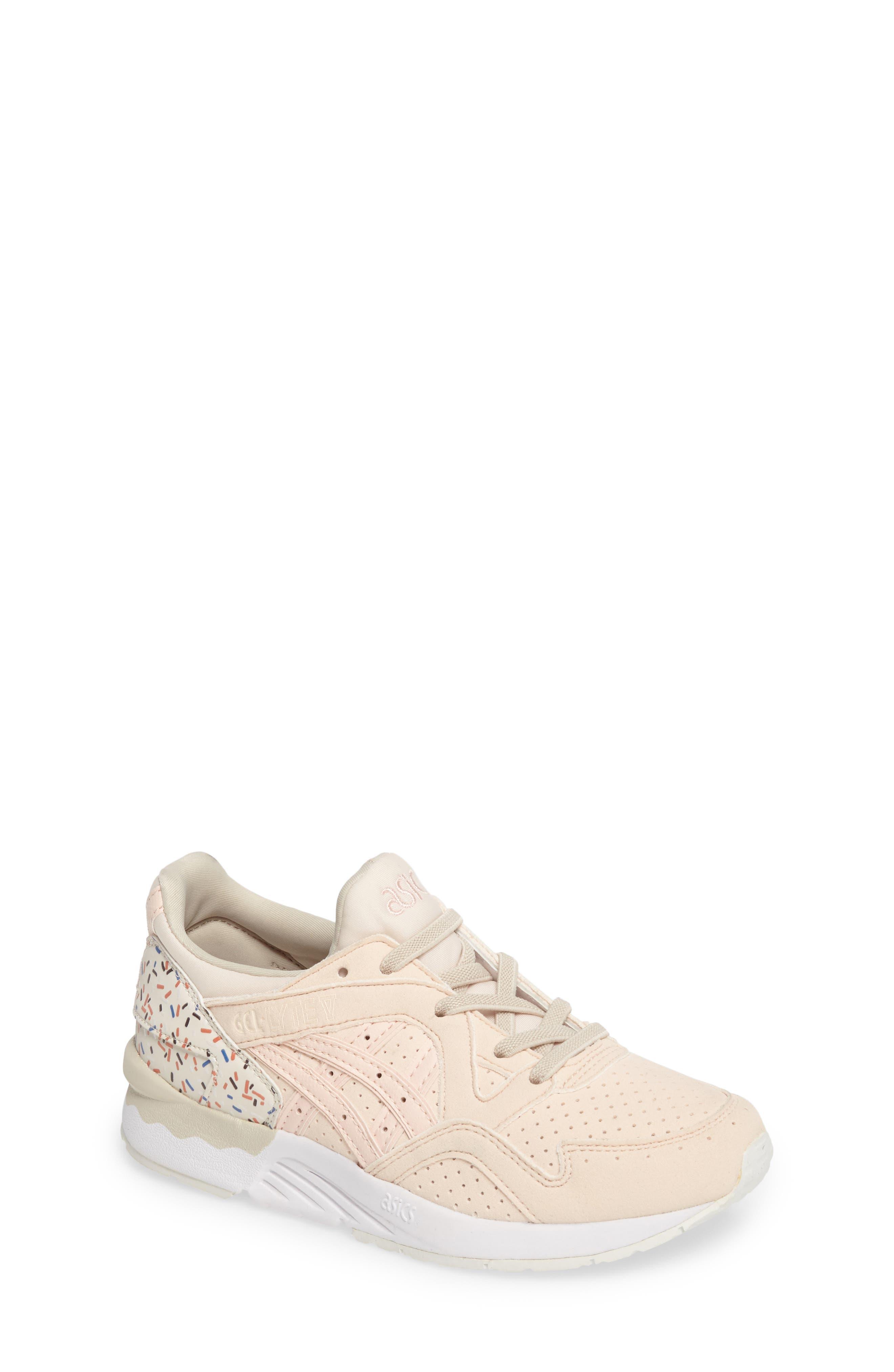 GEL-Lyte V Sneaker,                         Main,                         color, Vanilla Cream/ Vanilla Cream