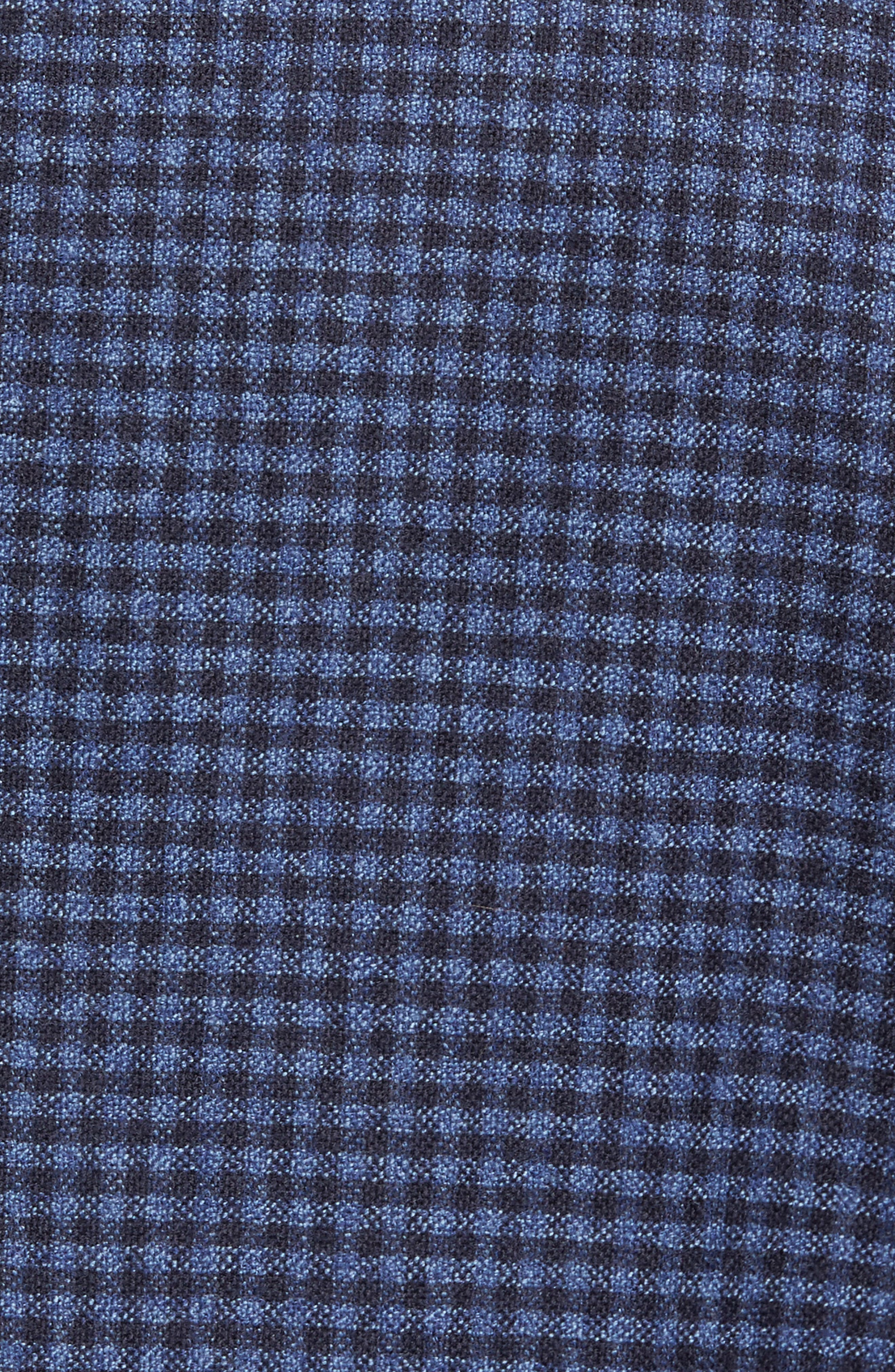 Alternate Image 5  - David Donahue Aiden Classic Fit Check Wool & Cashmere Sport Coat