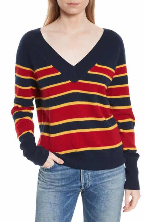 Equipment Dorothy Stripe Cashmere Sweater