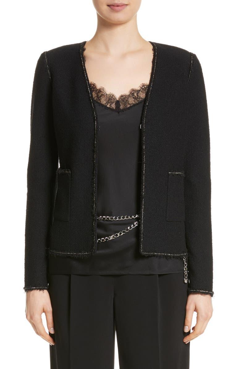 Boucle Knit Jacket