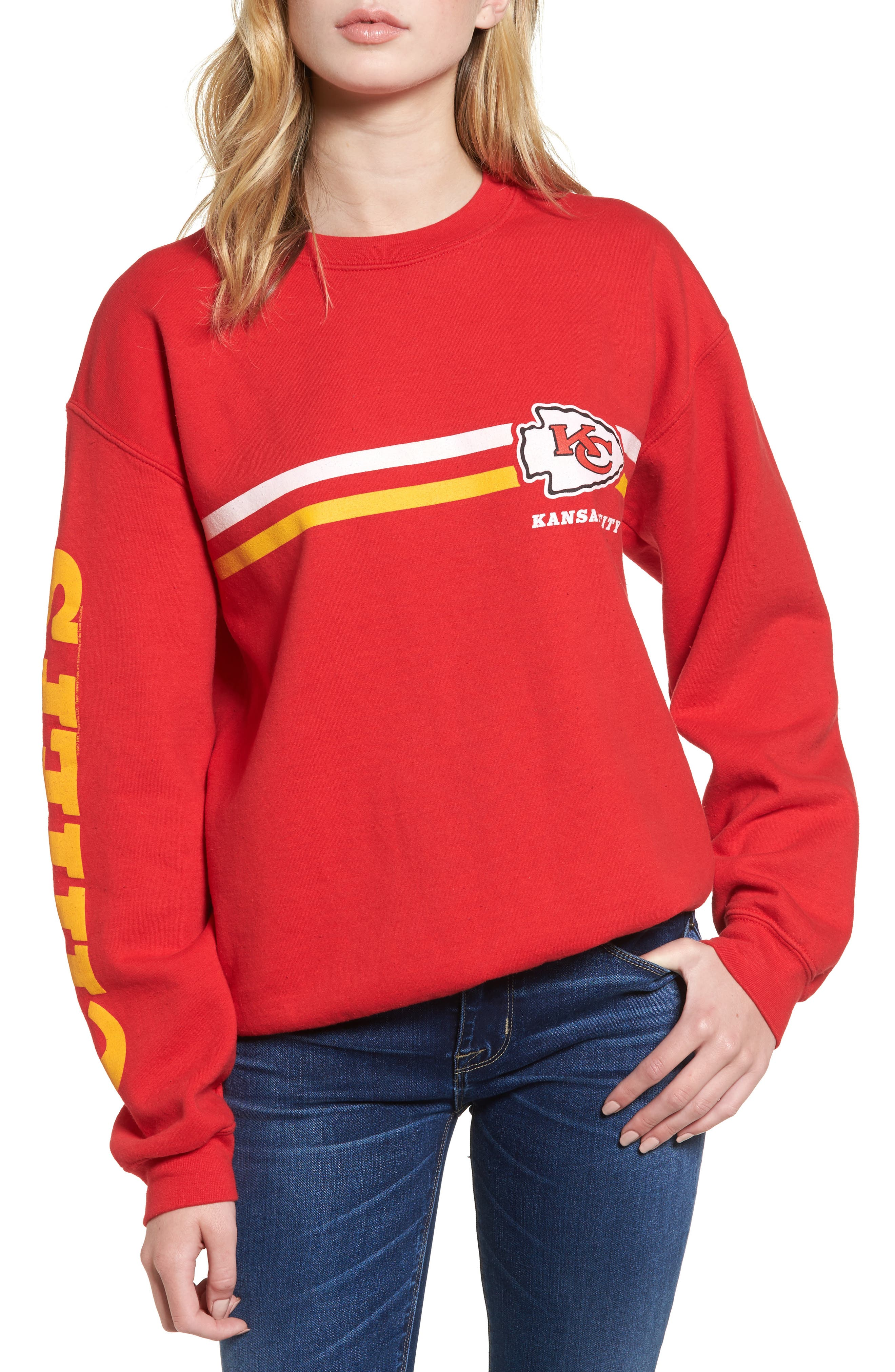 Junk Food Retro NFL Team Sweatshirt