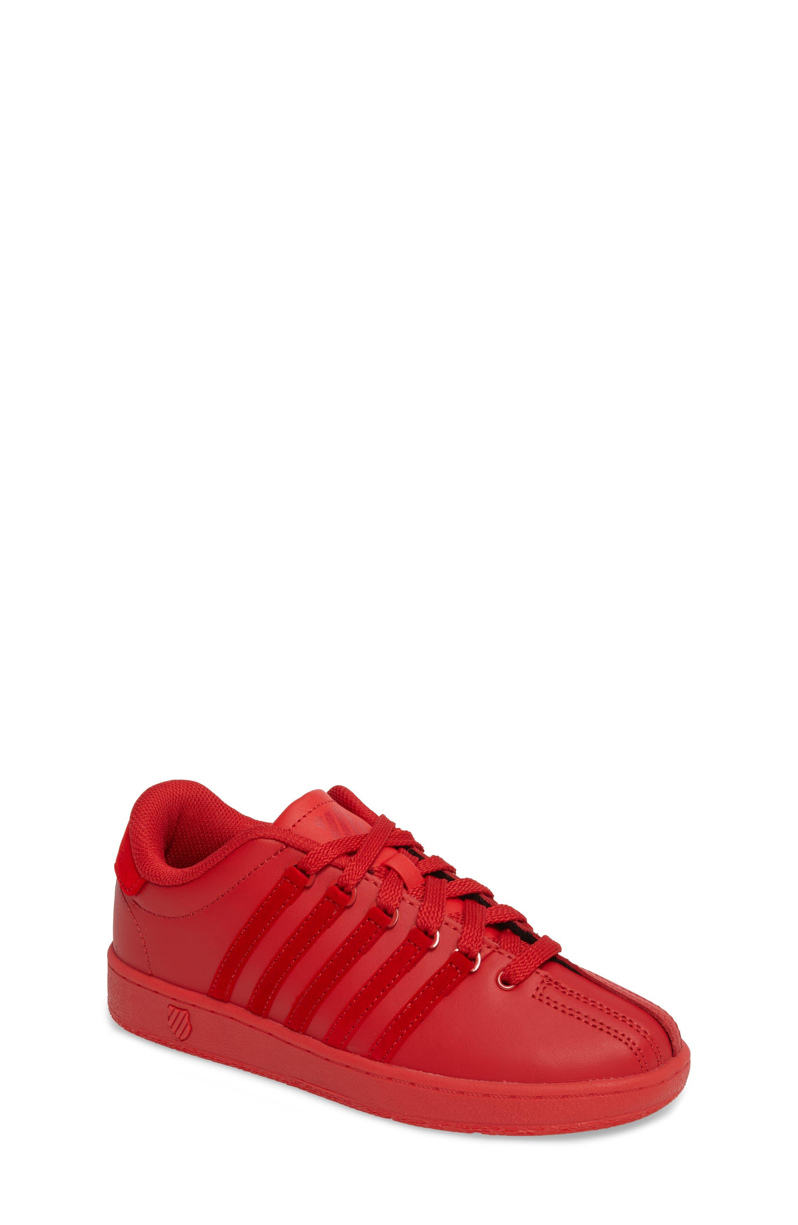 Classic VN Sneaker,                             Main thumbnail 1, color,                             Ribbon Red