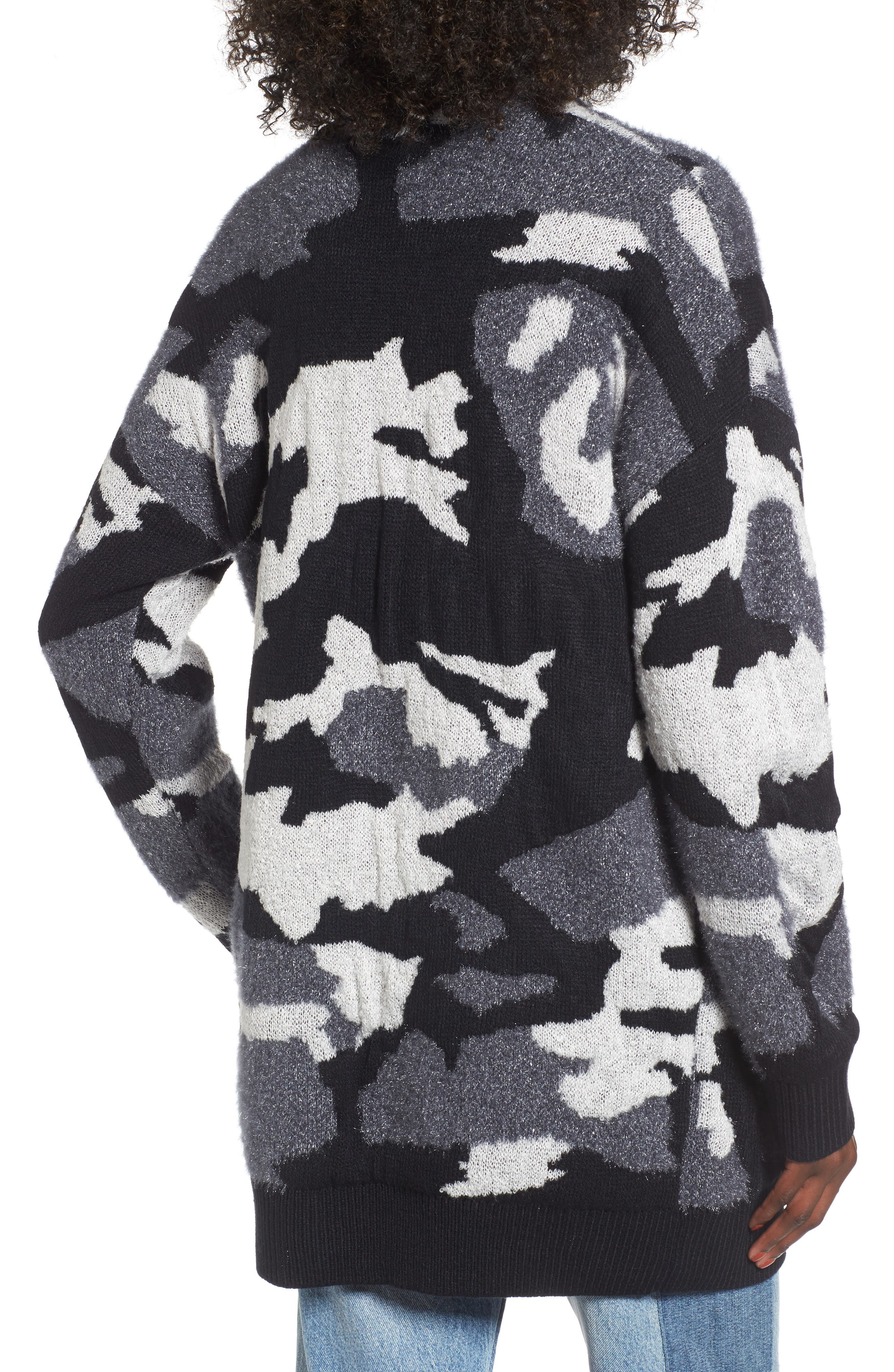 Alternate Image 2  - BP. Camouflage Knit Cardigan