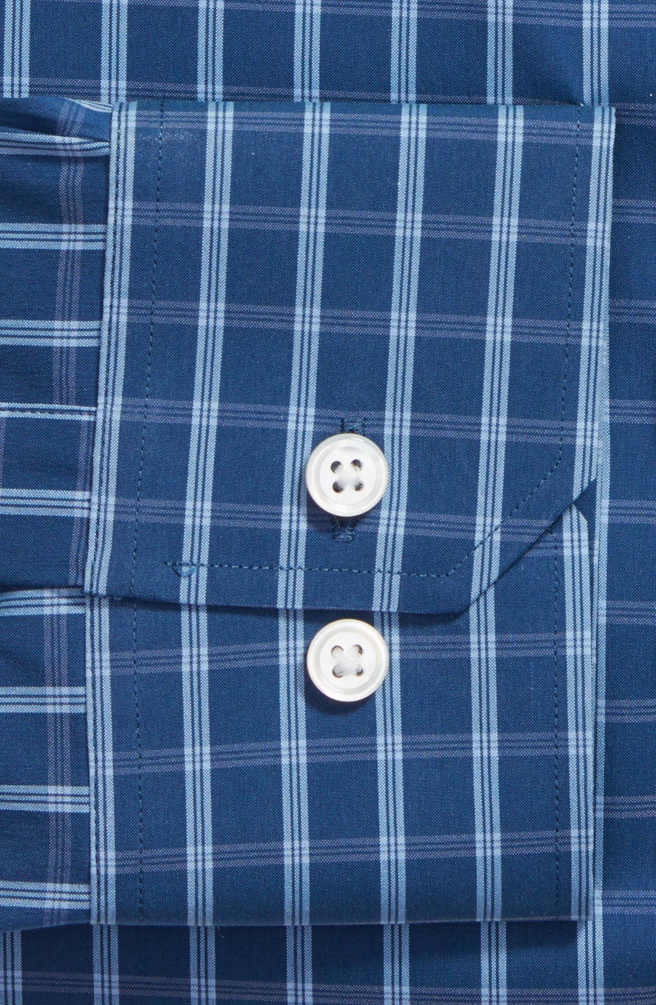 Alternate Image 2  - Bonobos Wright Slim Fit Stretch Check Dress Shirt