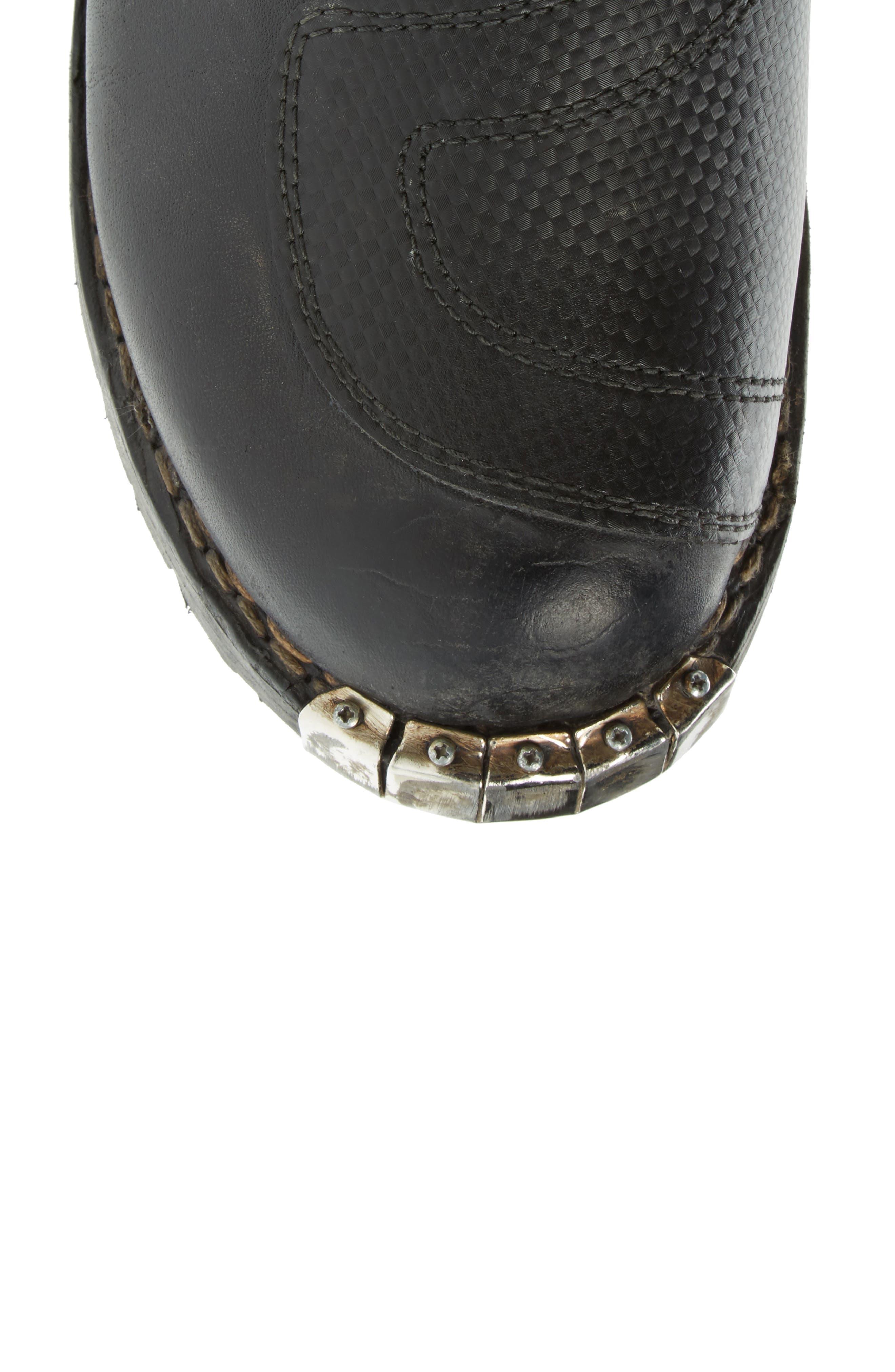 Alternate Image 5  - Balenciaga Moto Strapped Boot (Men)
