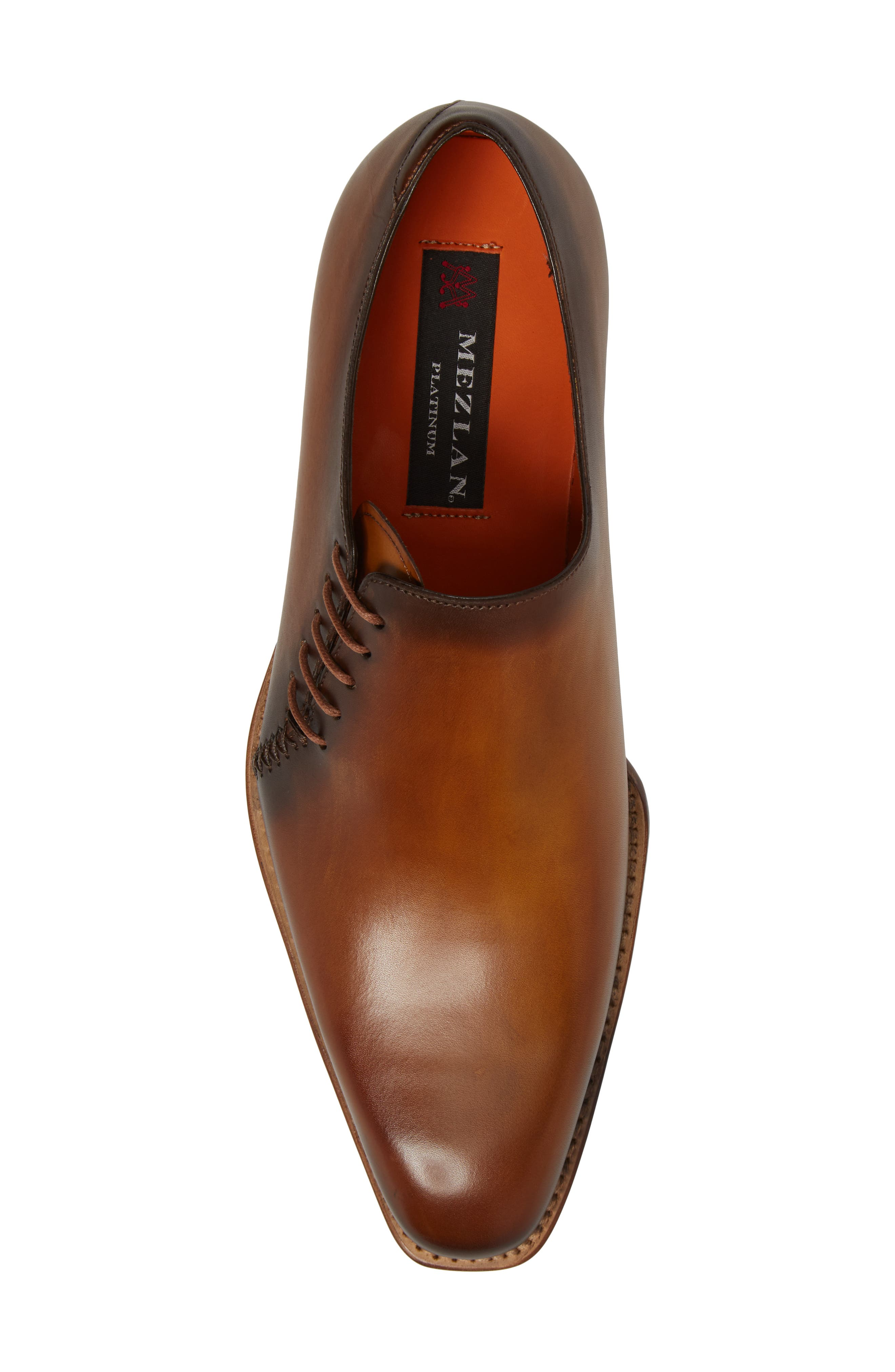 Master Wholecut Oxford,                             Alternate thumbnail 5, color,                             Honey Leather