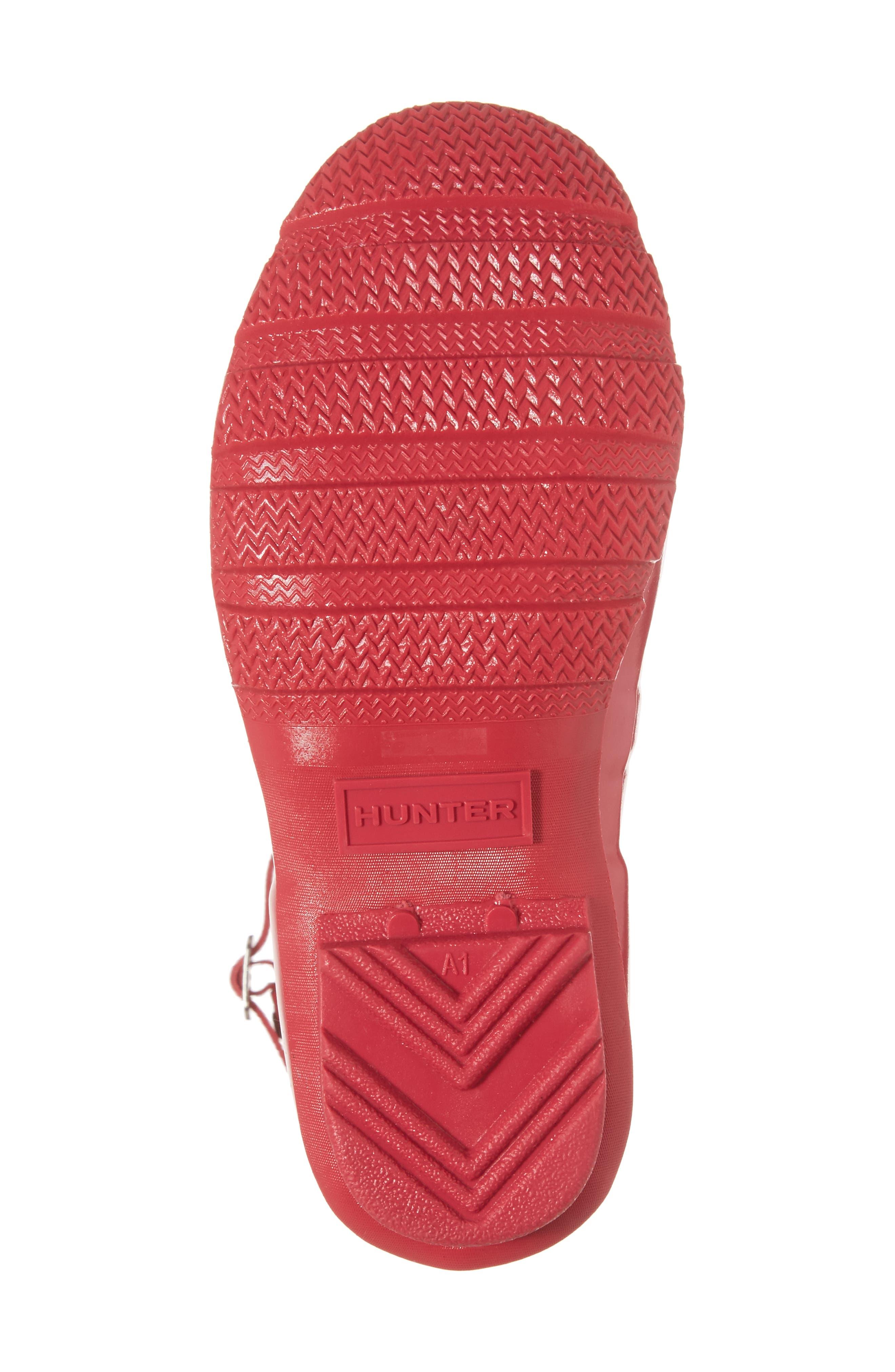 'Original Gloss' Rain Boot,                             Alternate thumbnail 6, color,                             Bright Pink