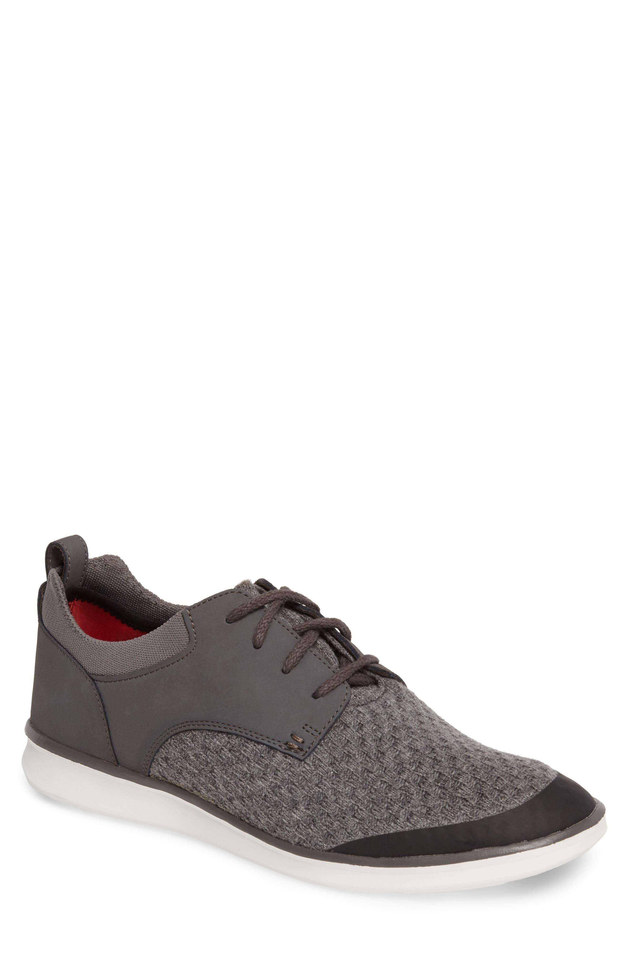 Hepner HyperWeave Sneaker,                             Main thumbnail 1, color,                             Dark Charcoal