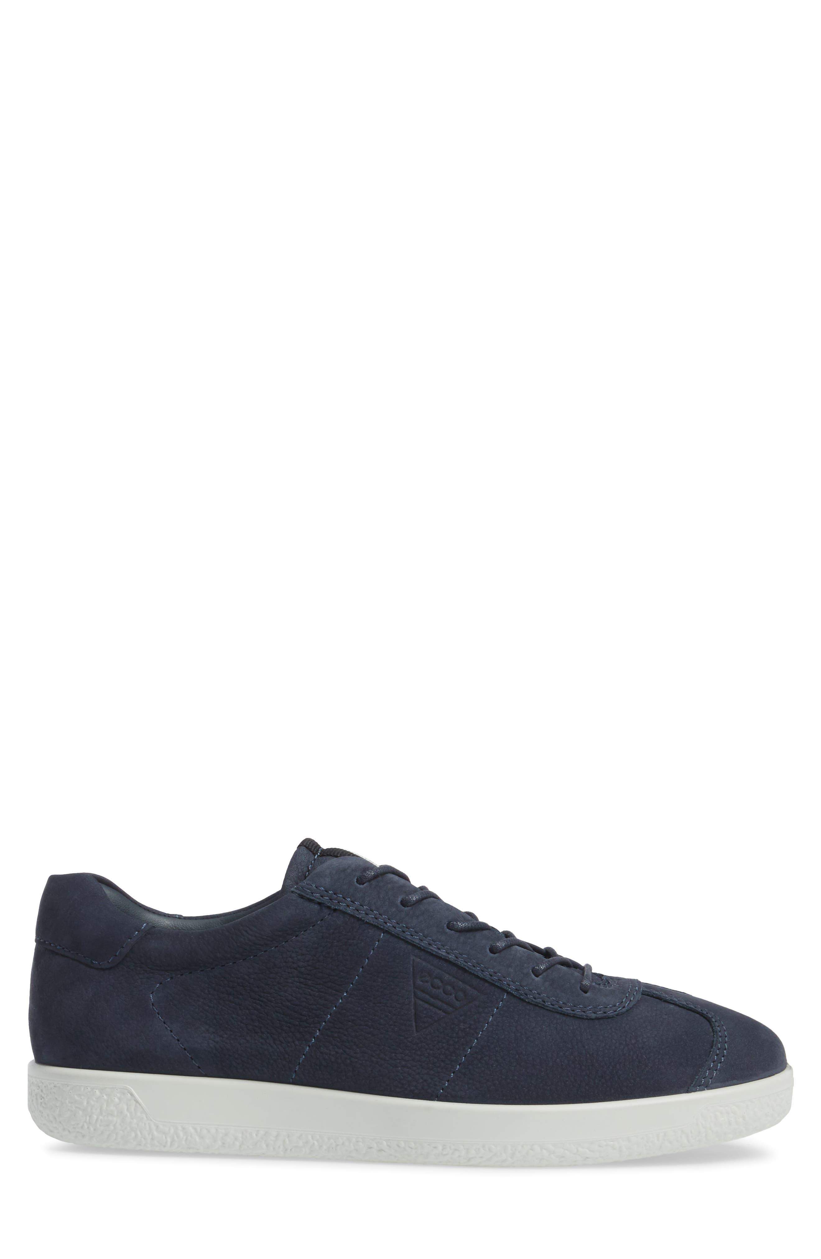 Soft 1 Sneaker,                             Alternate thumbnail 3, color,                             Marine Nubuck