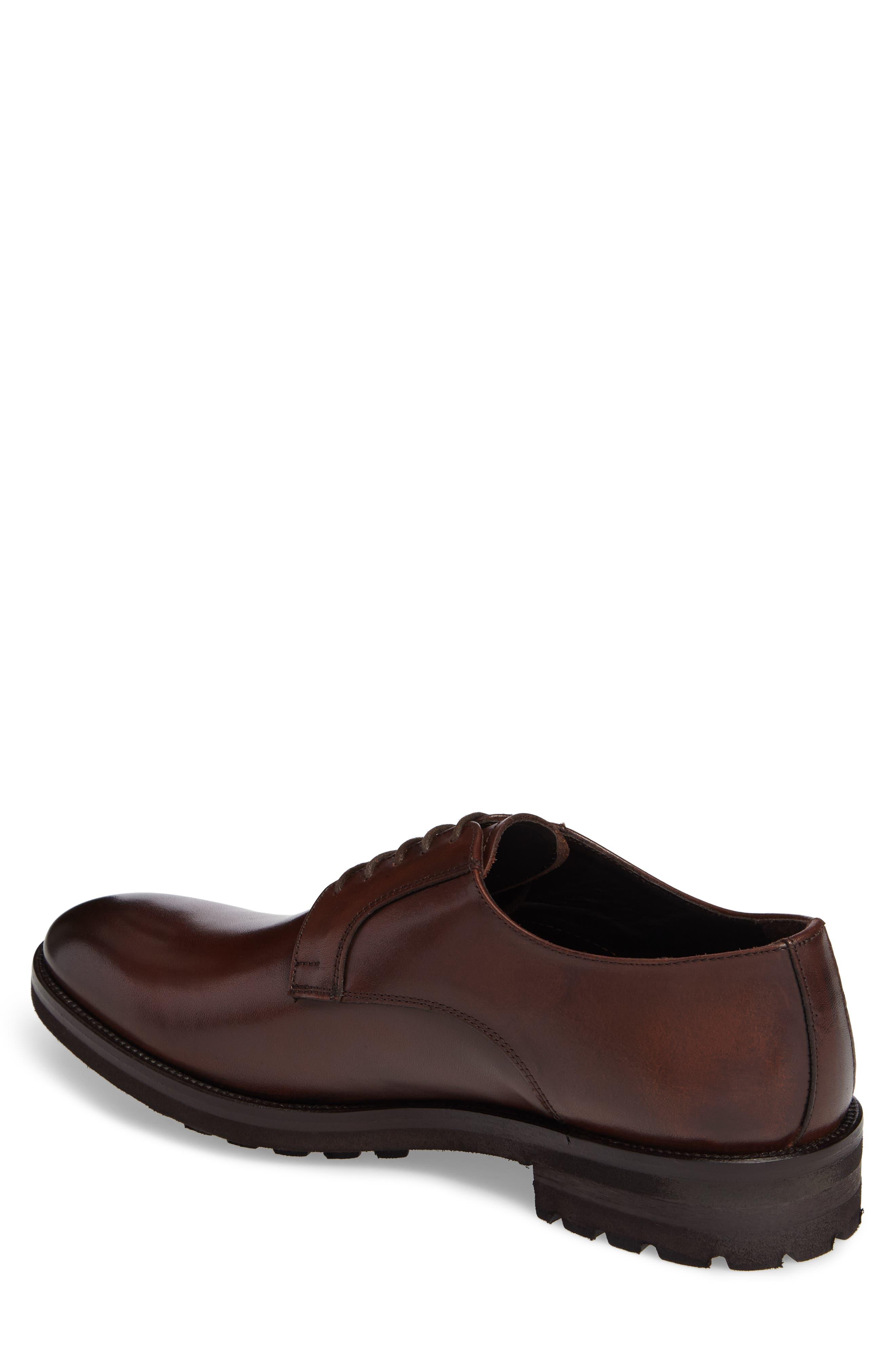 Martell Plain Toe Derby,                             Alternate thumbnail 2, color,                             Marrone