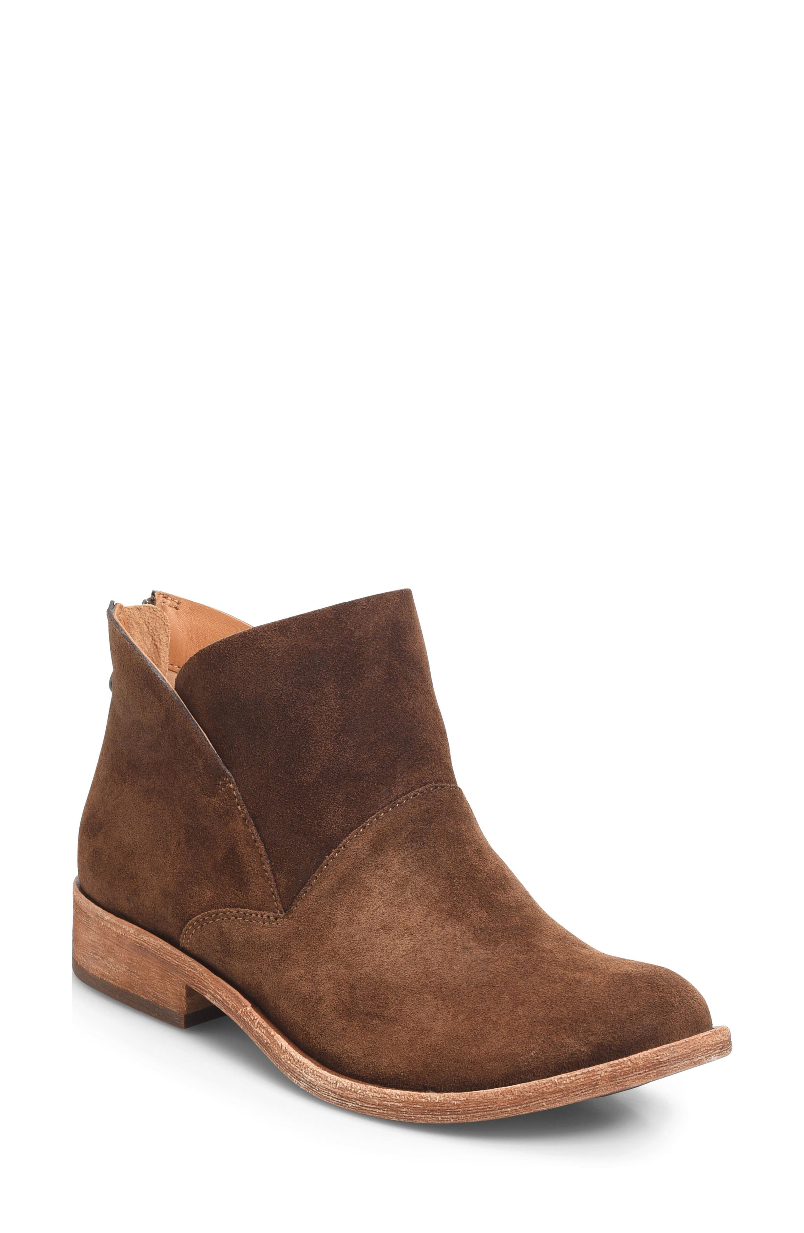 Ryder Ankle Boot,                             Main thumbnail 1, color,                             Rust Suede