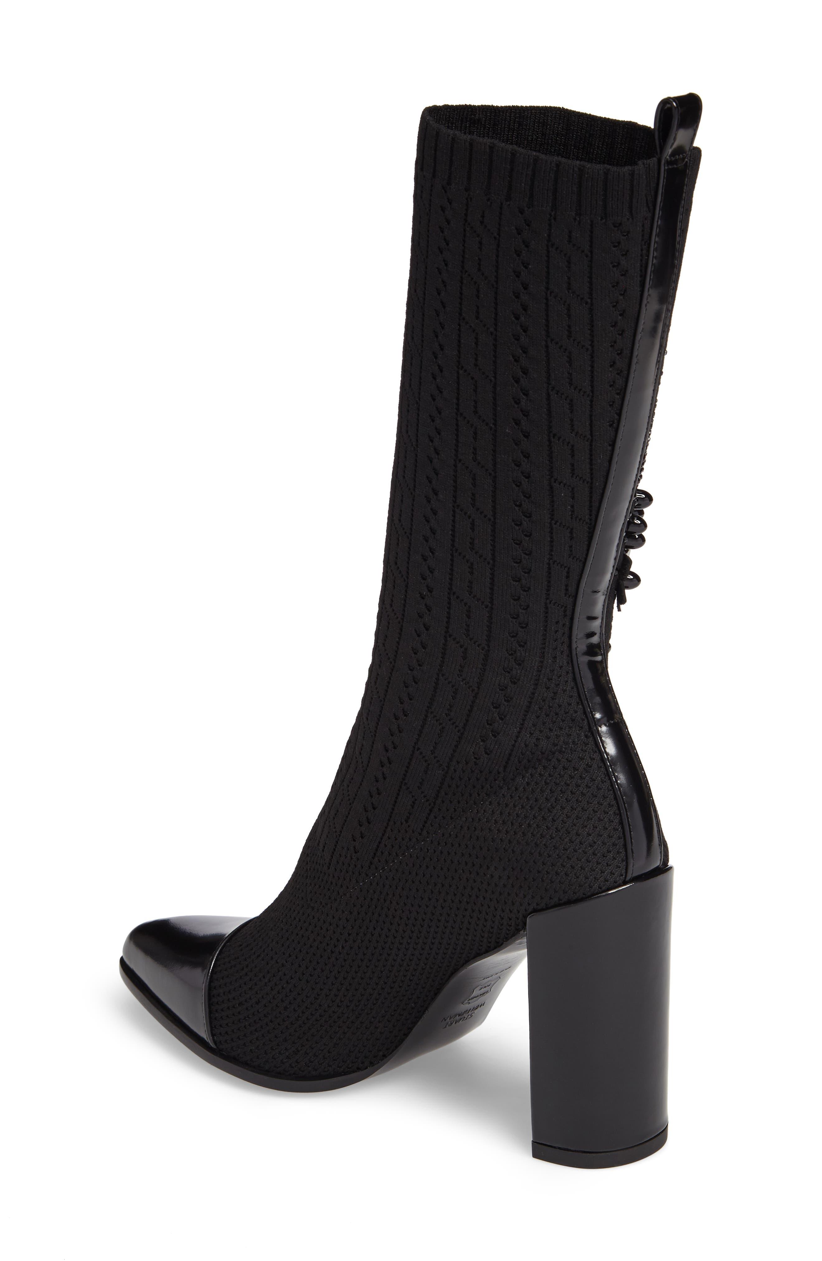 Alternate Image 2  - Stuart Weitzman Sockhop Embellished Boot (Women)