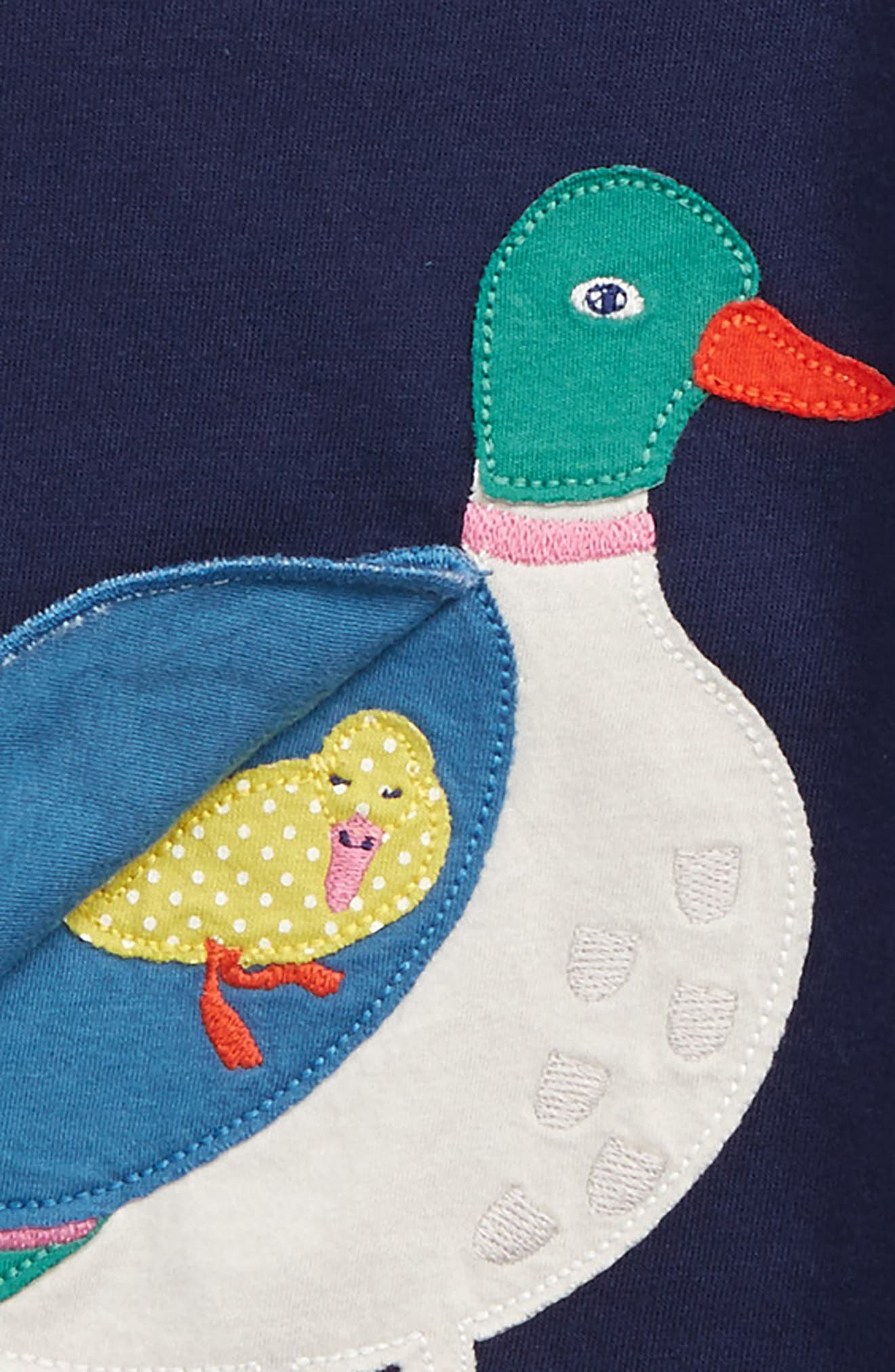 Alternate Image 3  - Mini Boden River Bank Appliqué Tee (Toddler Girls, Little Girls & Big Girls)