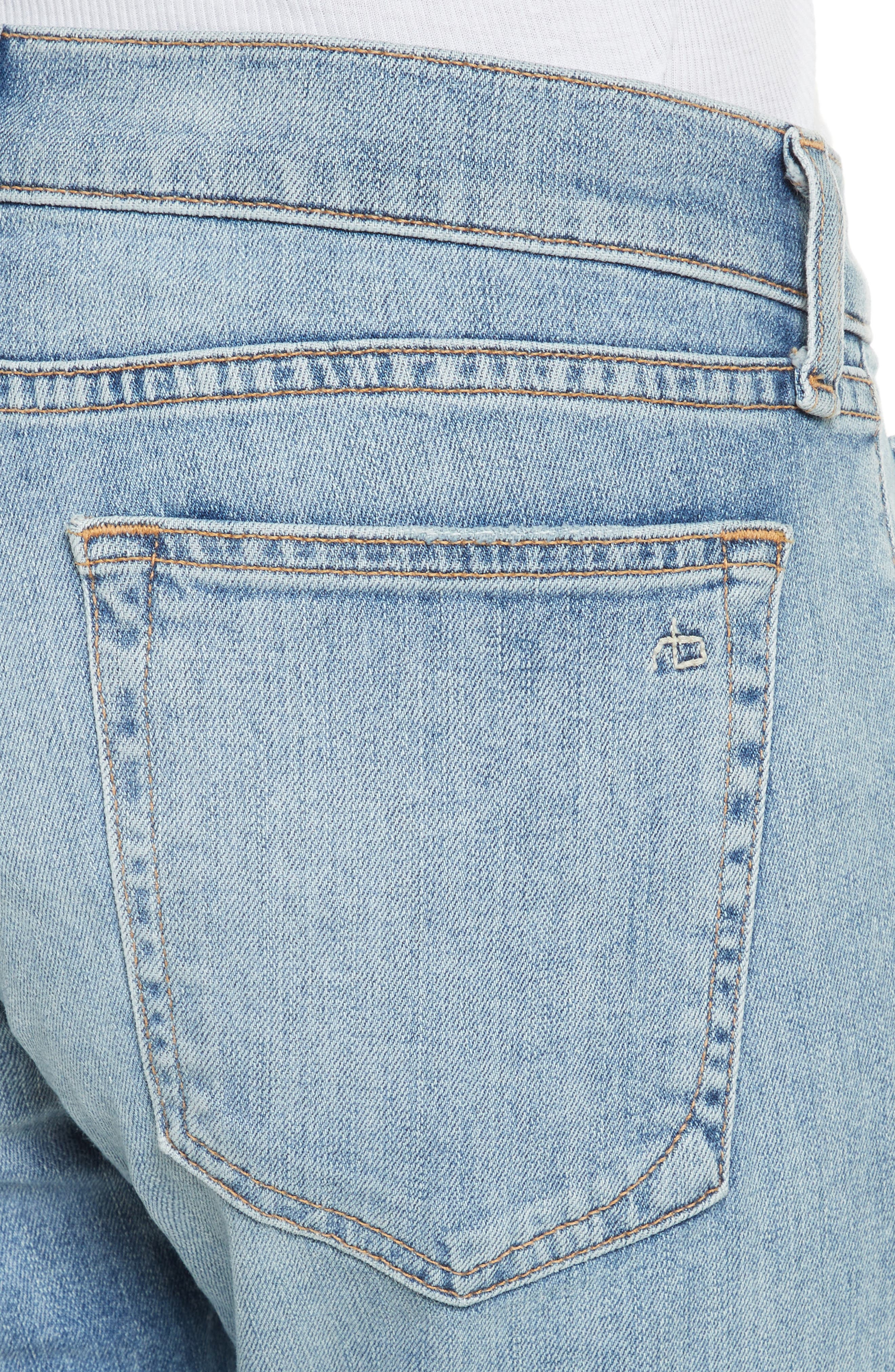 Alternate Image 4  - rag & bone/JEAN The Dre Slim Boyfriend Jeans (June)