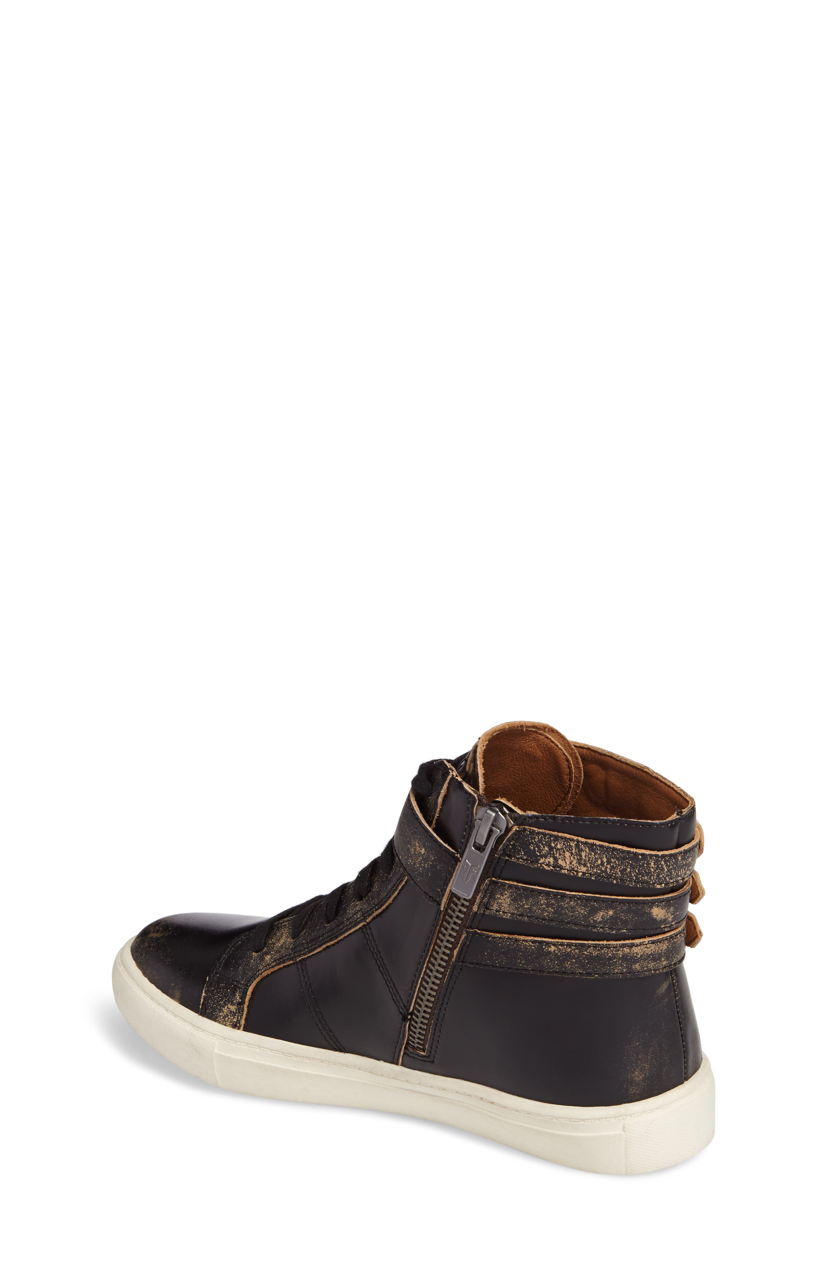 Alternate Image 2  - Frye Dylan Buckle Strap High-Top Sneaker (Toddler, Little Kid & Big Kid)