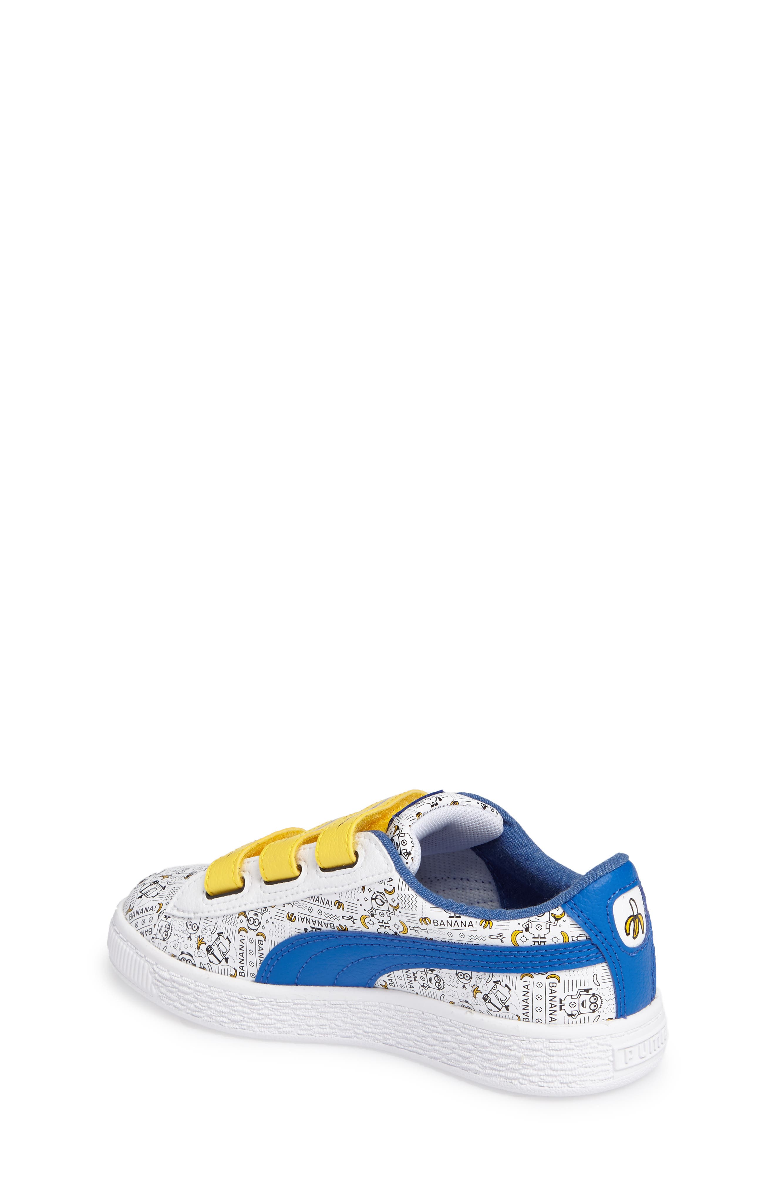 Alternate Image 2  - PUMA Minions Basket V Sneaker (Toddler, Little Kid & Big Kid)