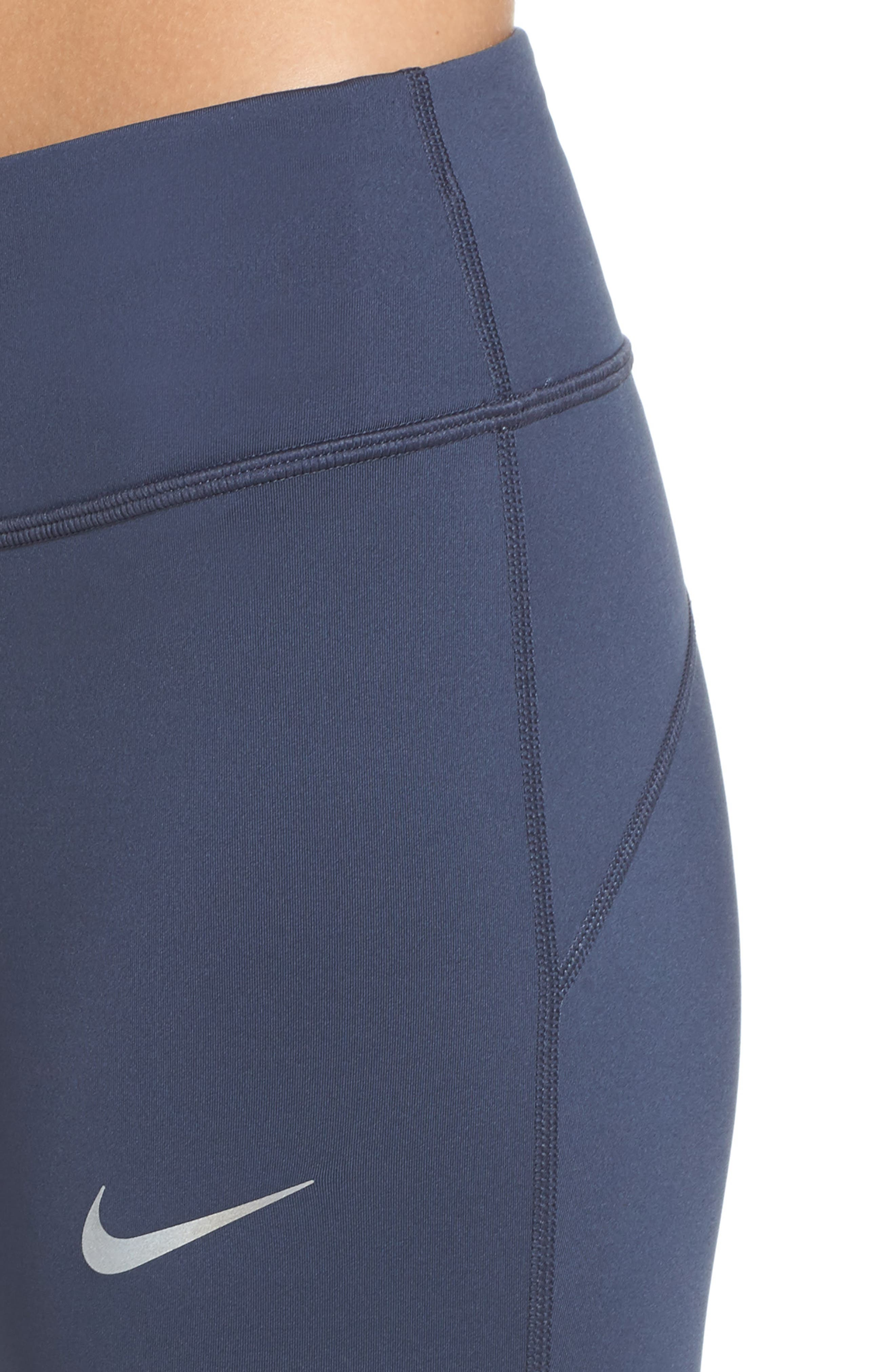 Alternate Image 4  - Nike Power Epic Run Crop Tights