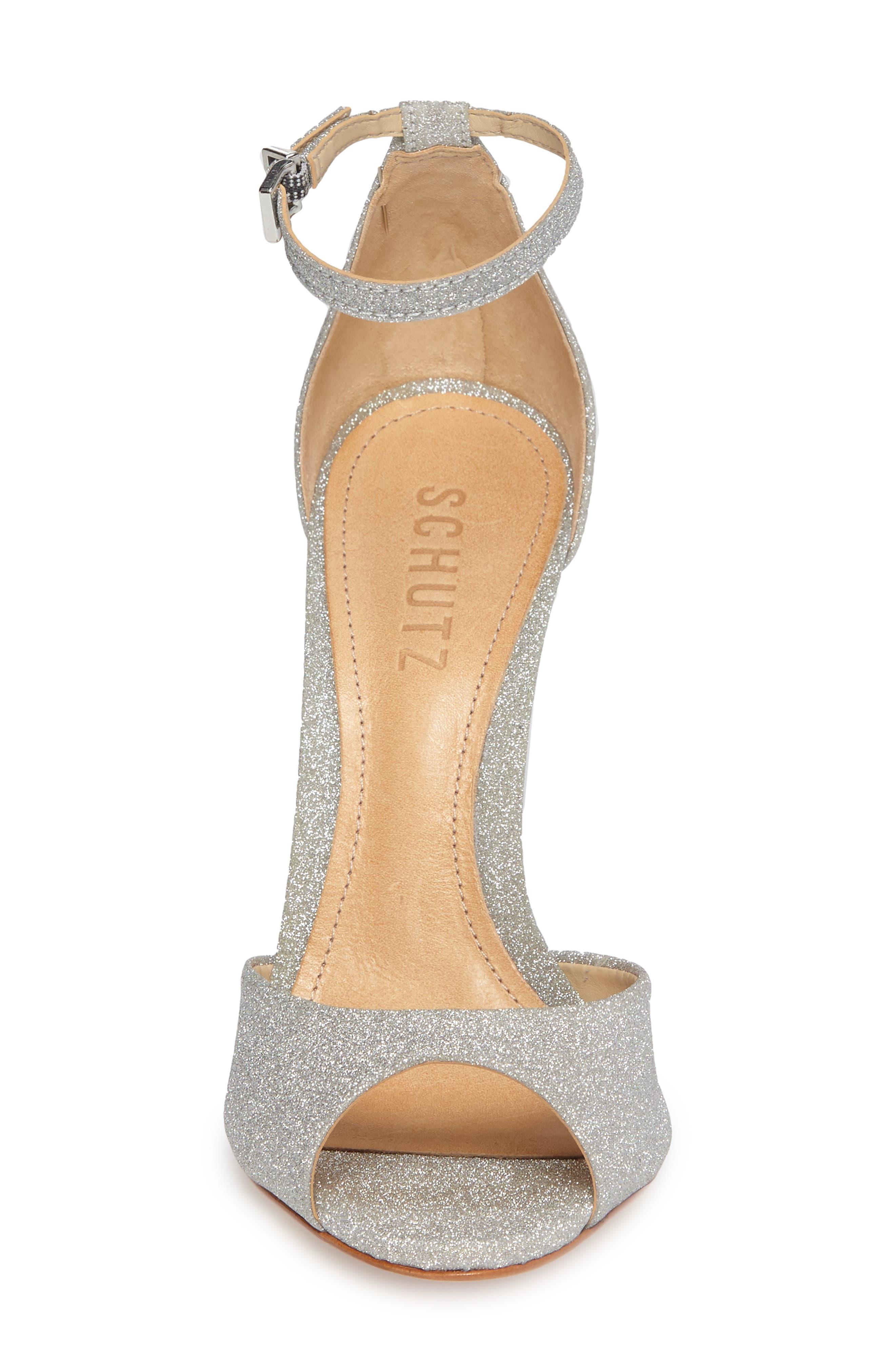 Alternate Image 4  - Schutz Saasha Lee Ankle Strap Sandal (Women)