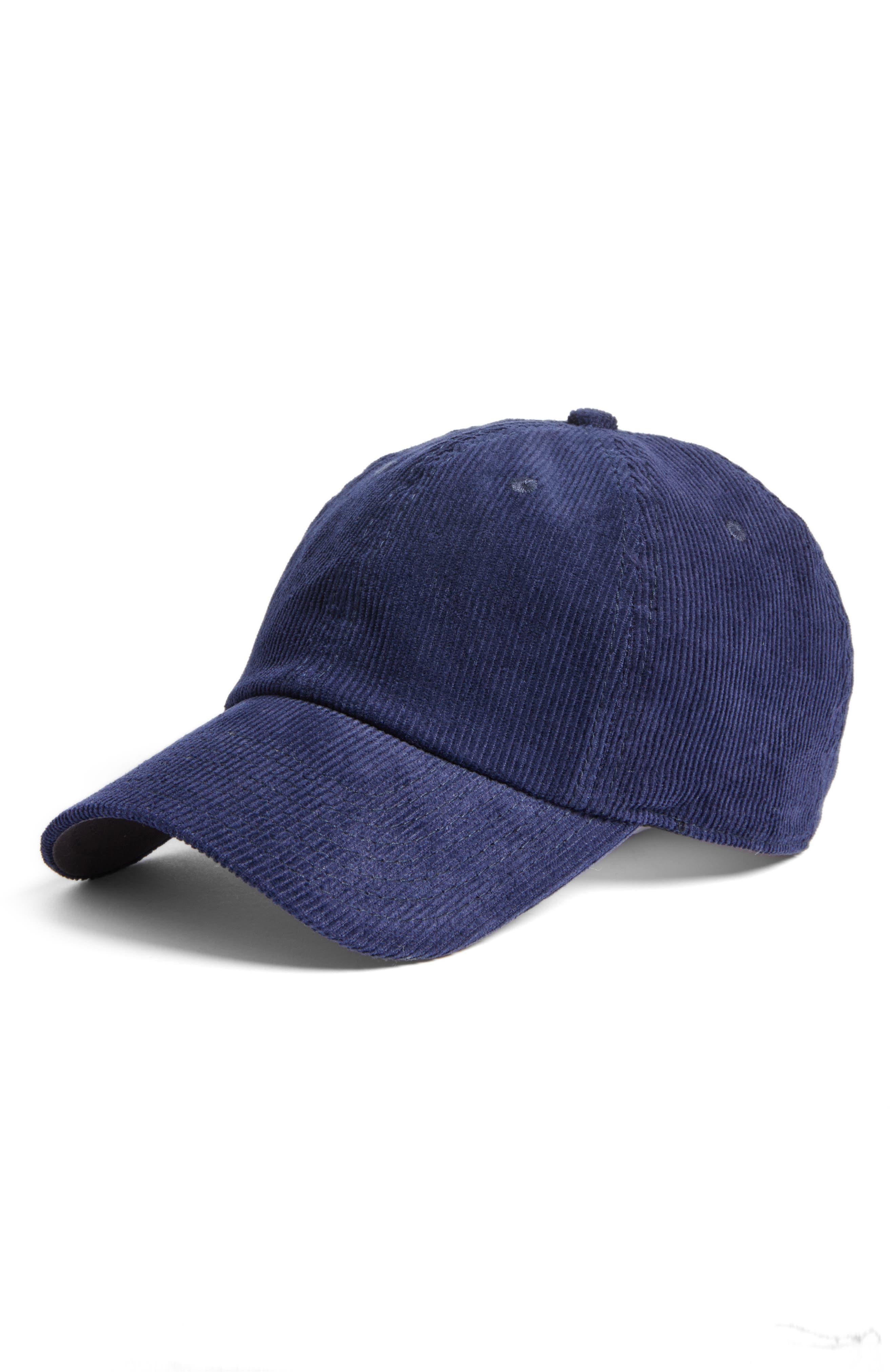 American Needle Corduroy Baseball Cap