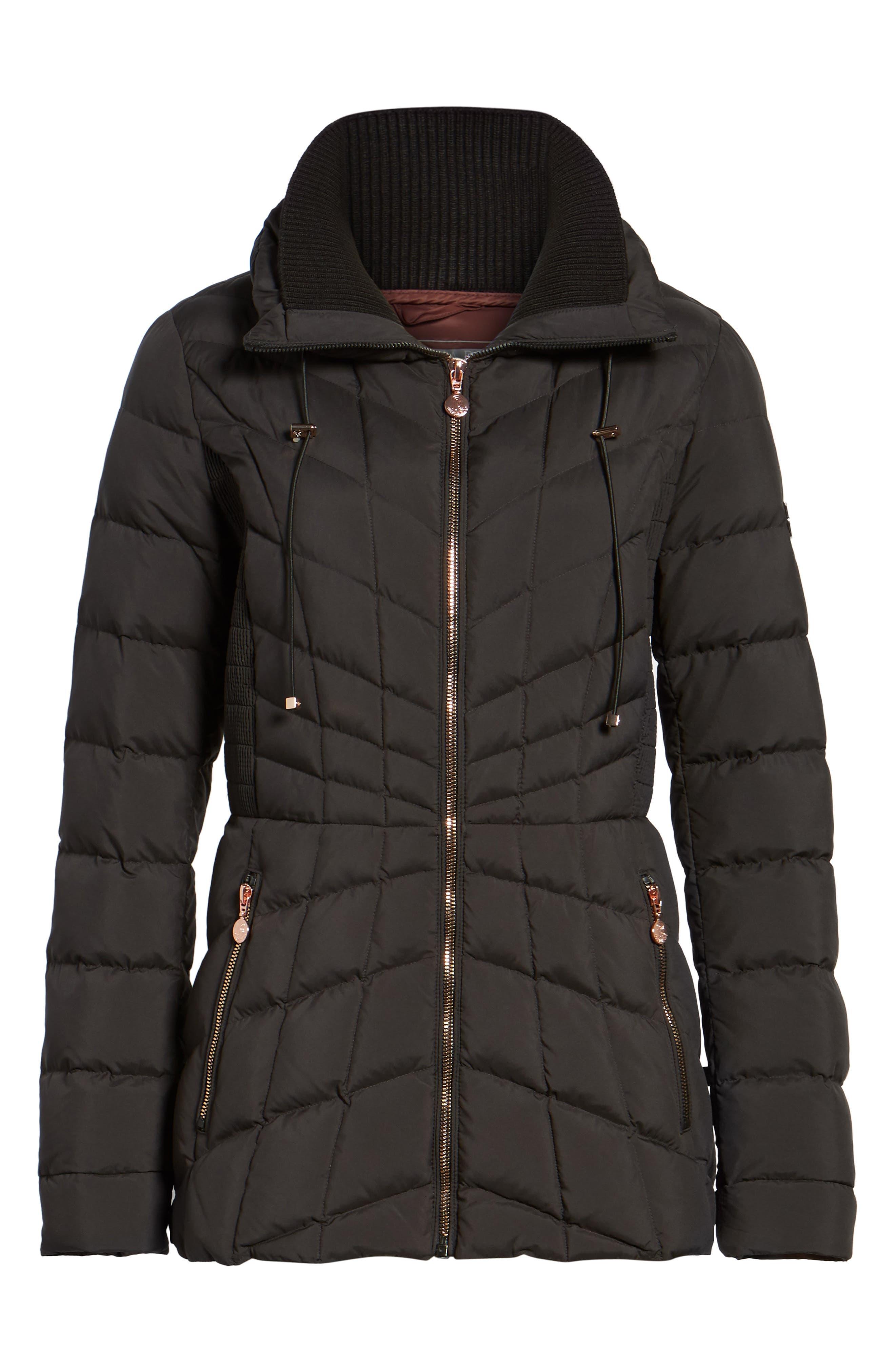 Alternate Image 6  - Bernardo Packable Down & PrimaLoft® Coat (Regular & Petite)
