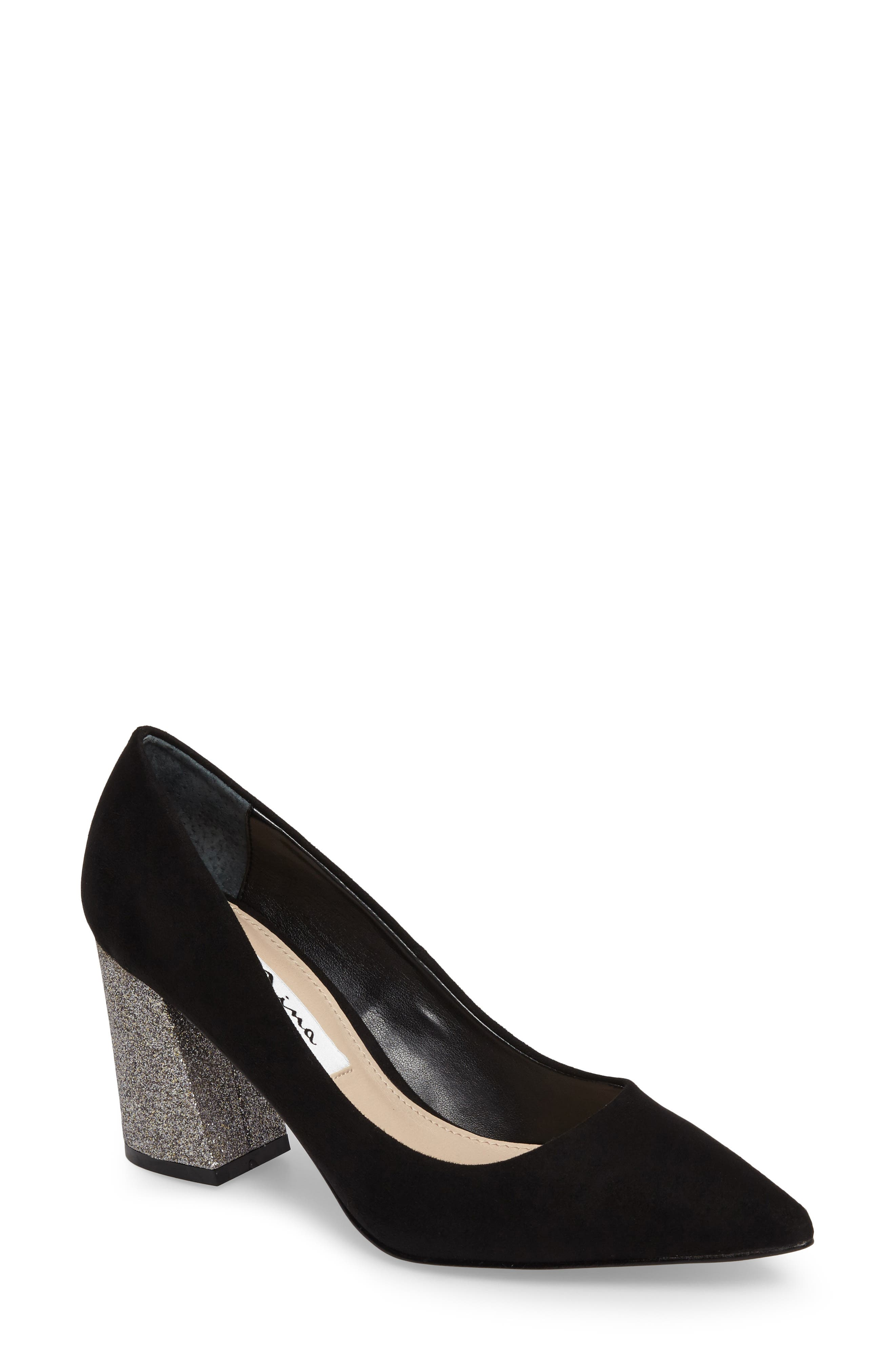 Alternate Image 1 Selected - Nina Tinsley Pointy Toe Pump (Women)
