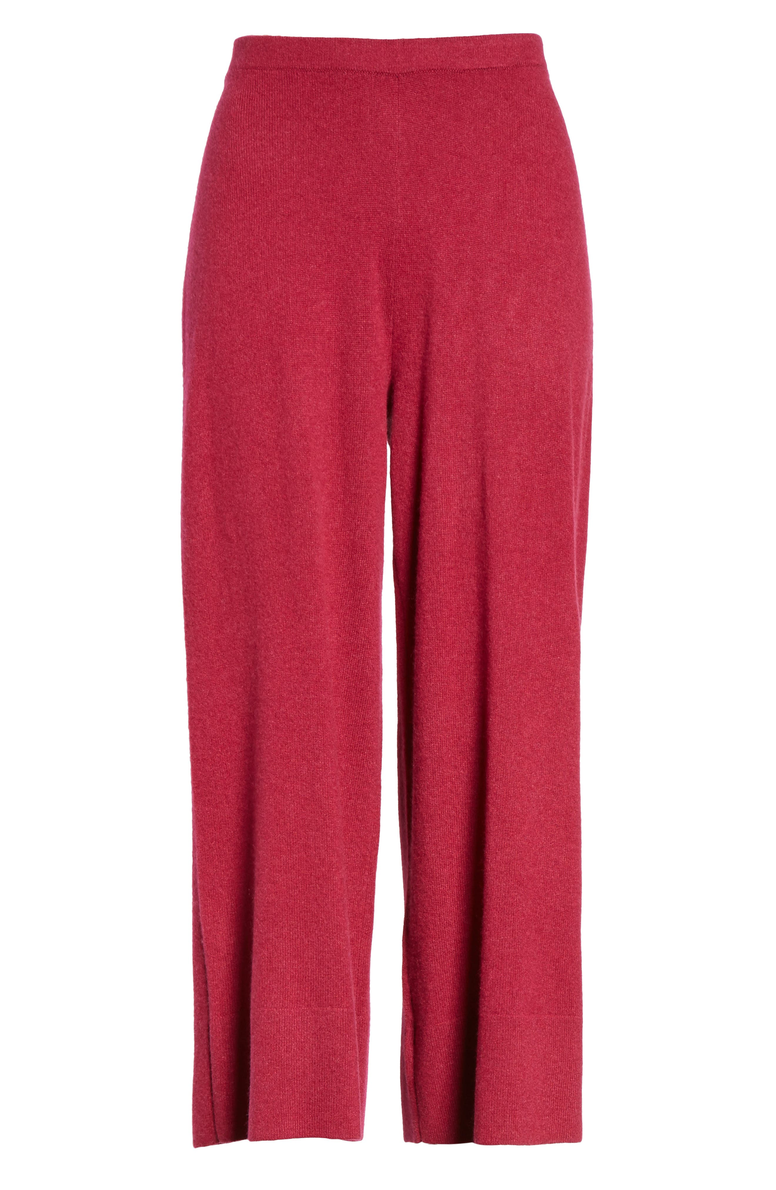 Alternate Image 6  - Eileen Fisher Knit Cashmere Ankle Pants
