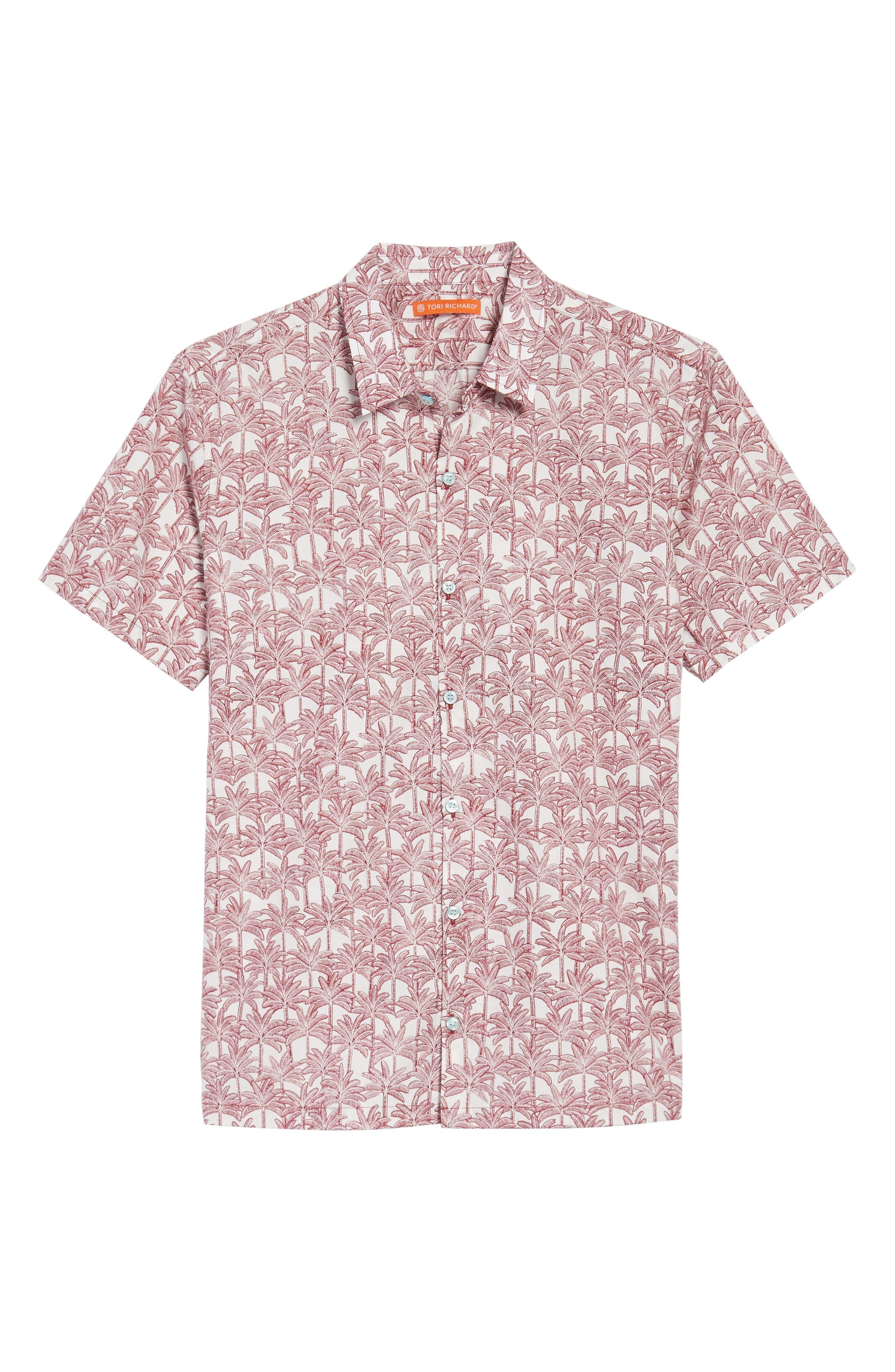 Alternate Image 6  - Tori Richard La Palma Regular Fit Print Sport Shirt