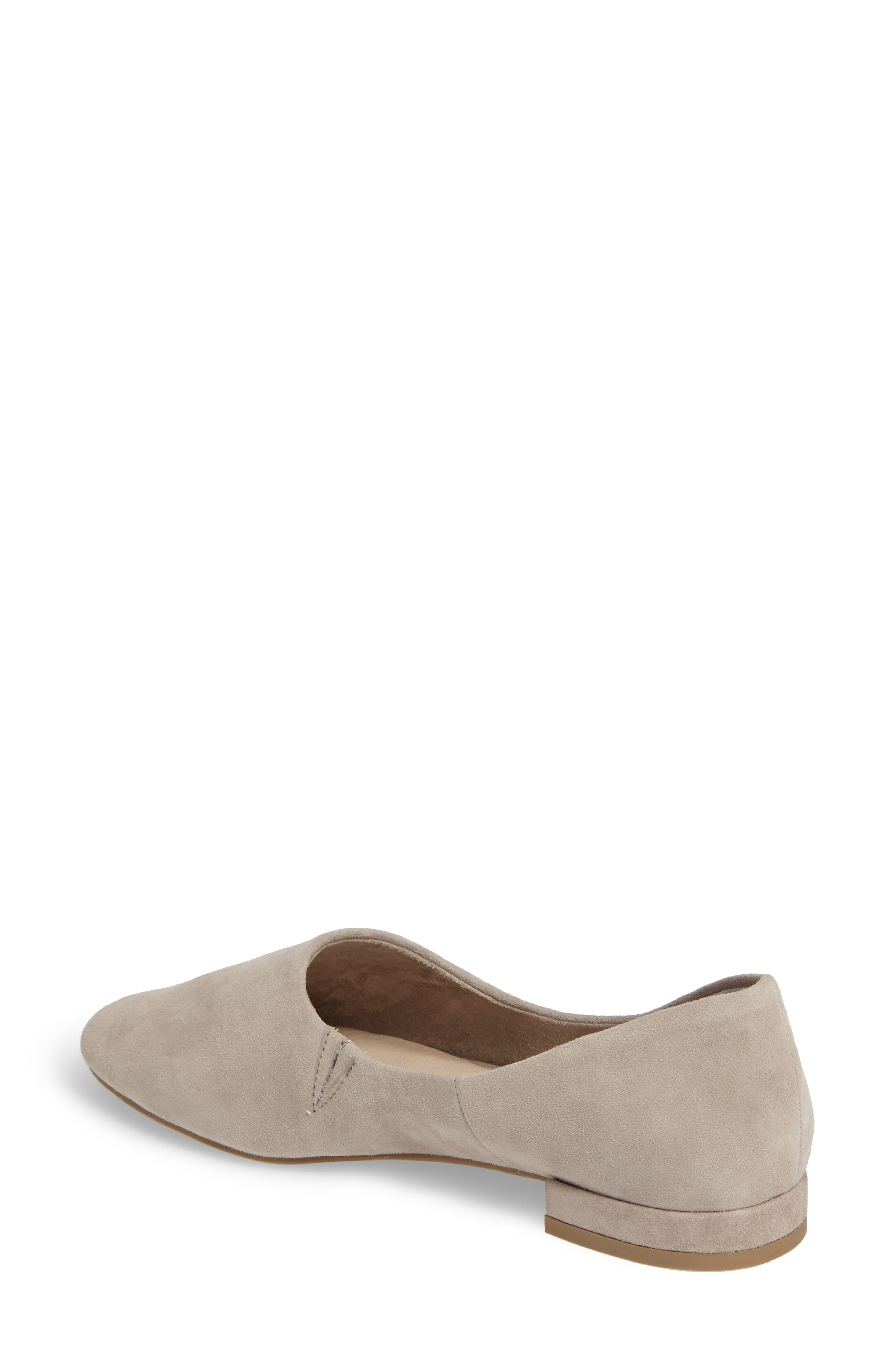 Role Flat,                             Alternate thumbnail 2, color,                             Taupe Suede