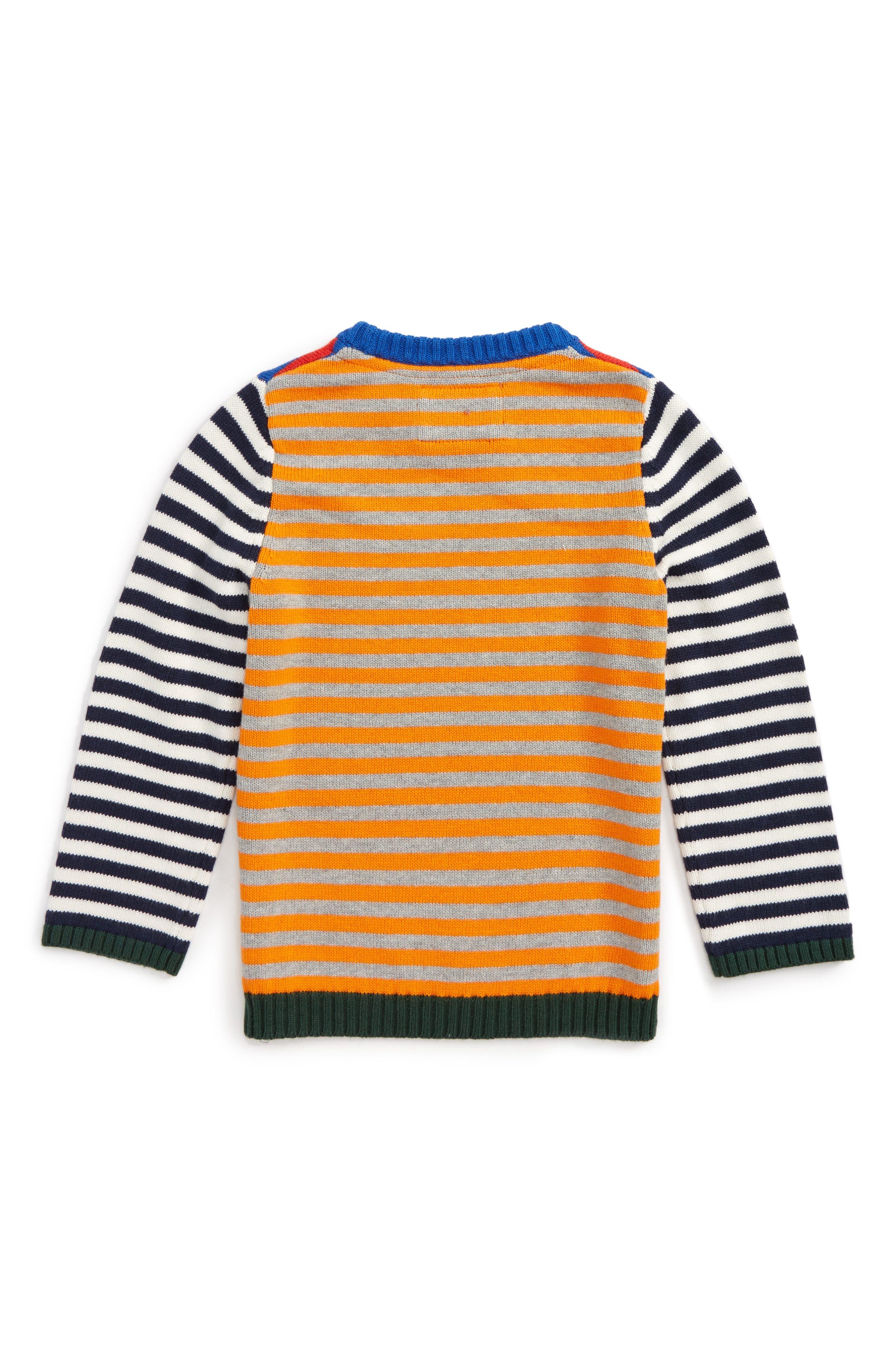 Alternate Image 2  - Mini Boden Hotchpotch Sweater (Toddler Boys, Little Boys & Big Boys)