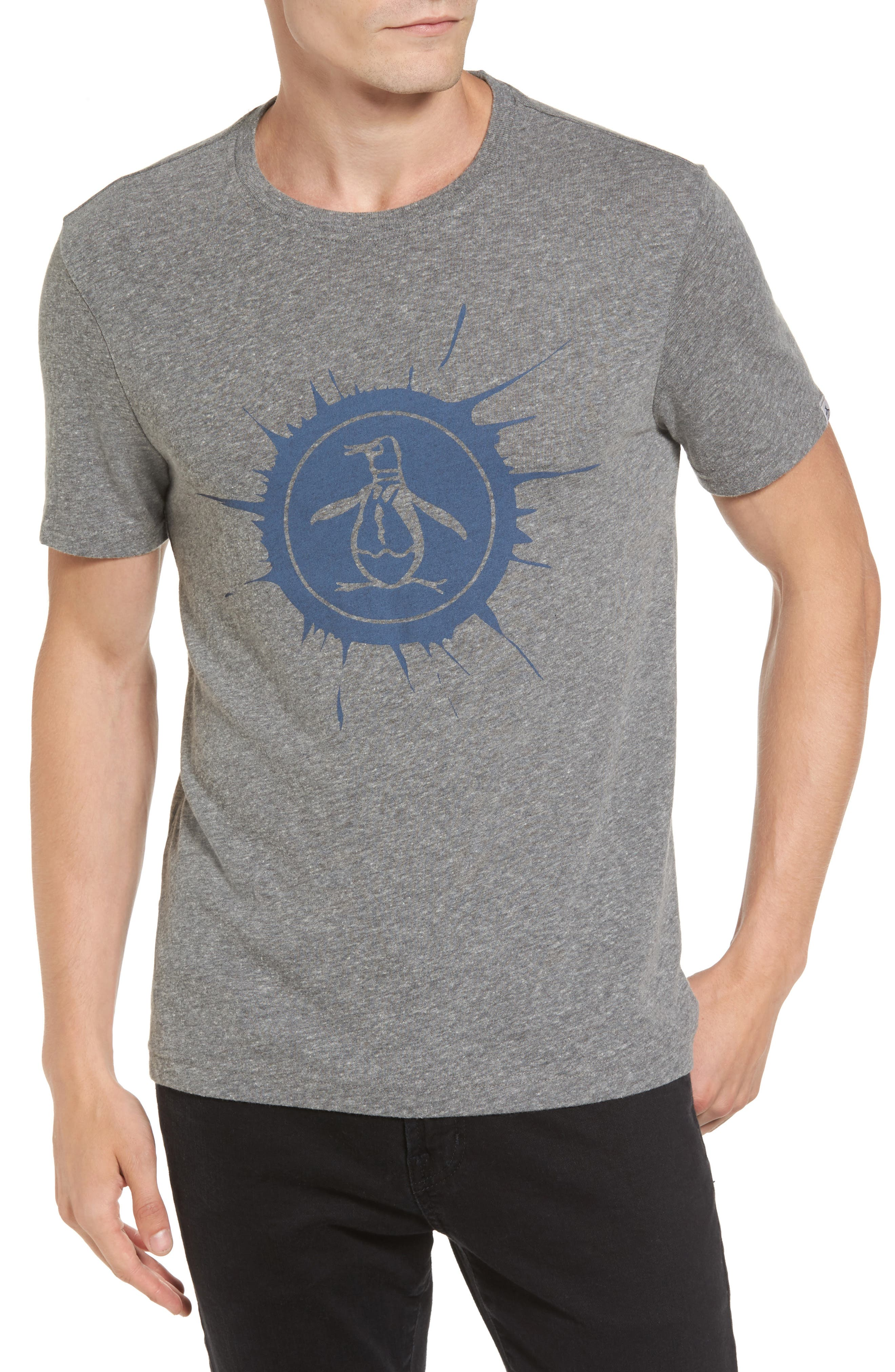 Original Penguin Splatter Logo T-Shirt