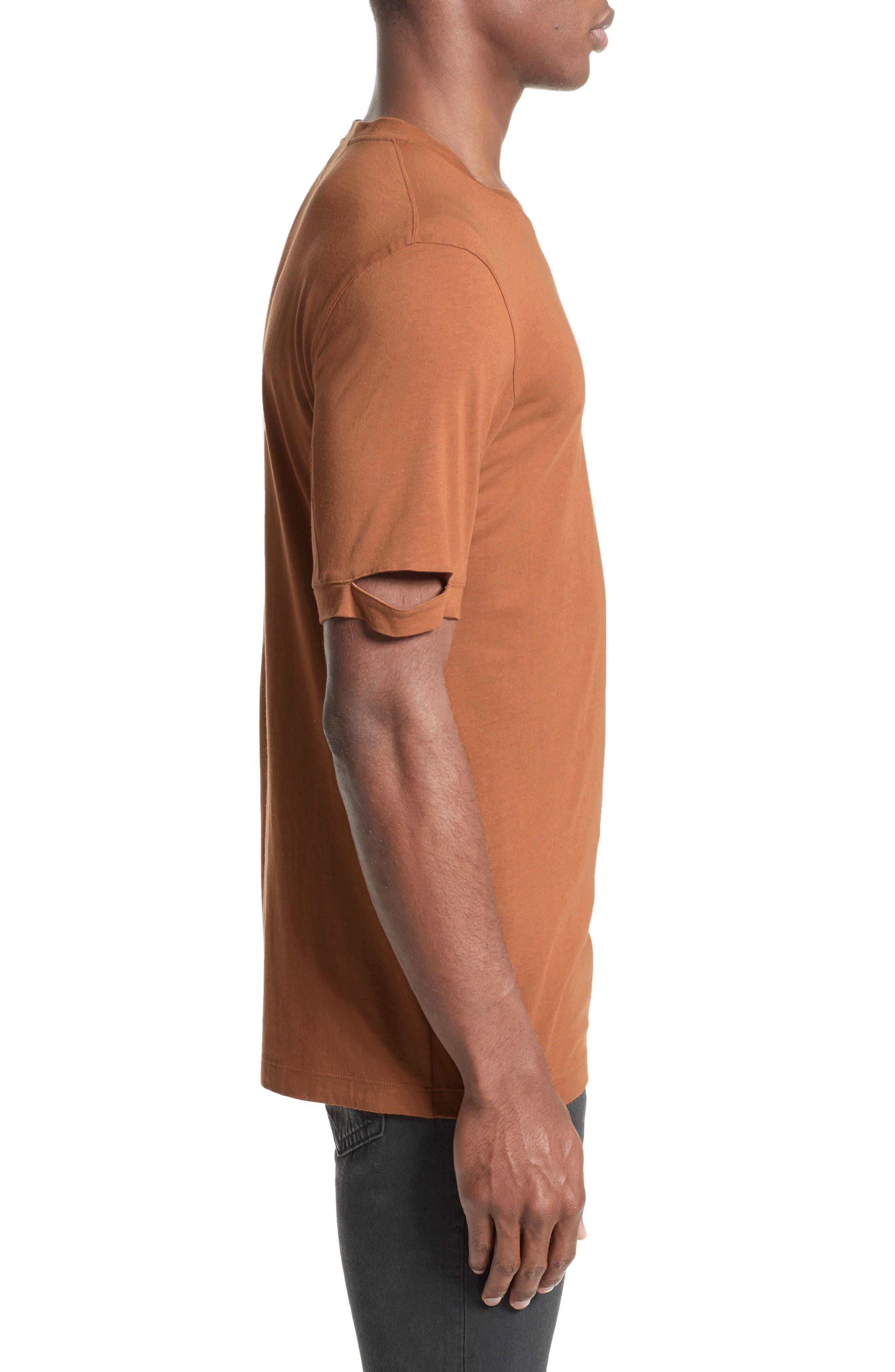 Alternate Image 3  - Helmut Lang Sliced Sleeve T-Shirt