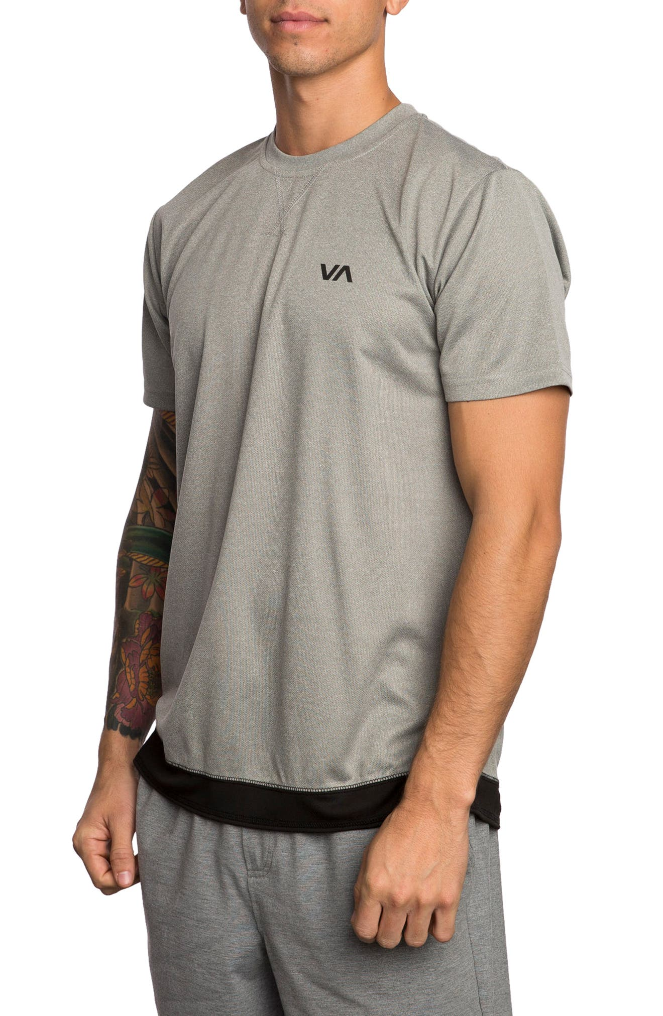 Alternate Image 3  - RVCA Runner Mesh T-Shirt