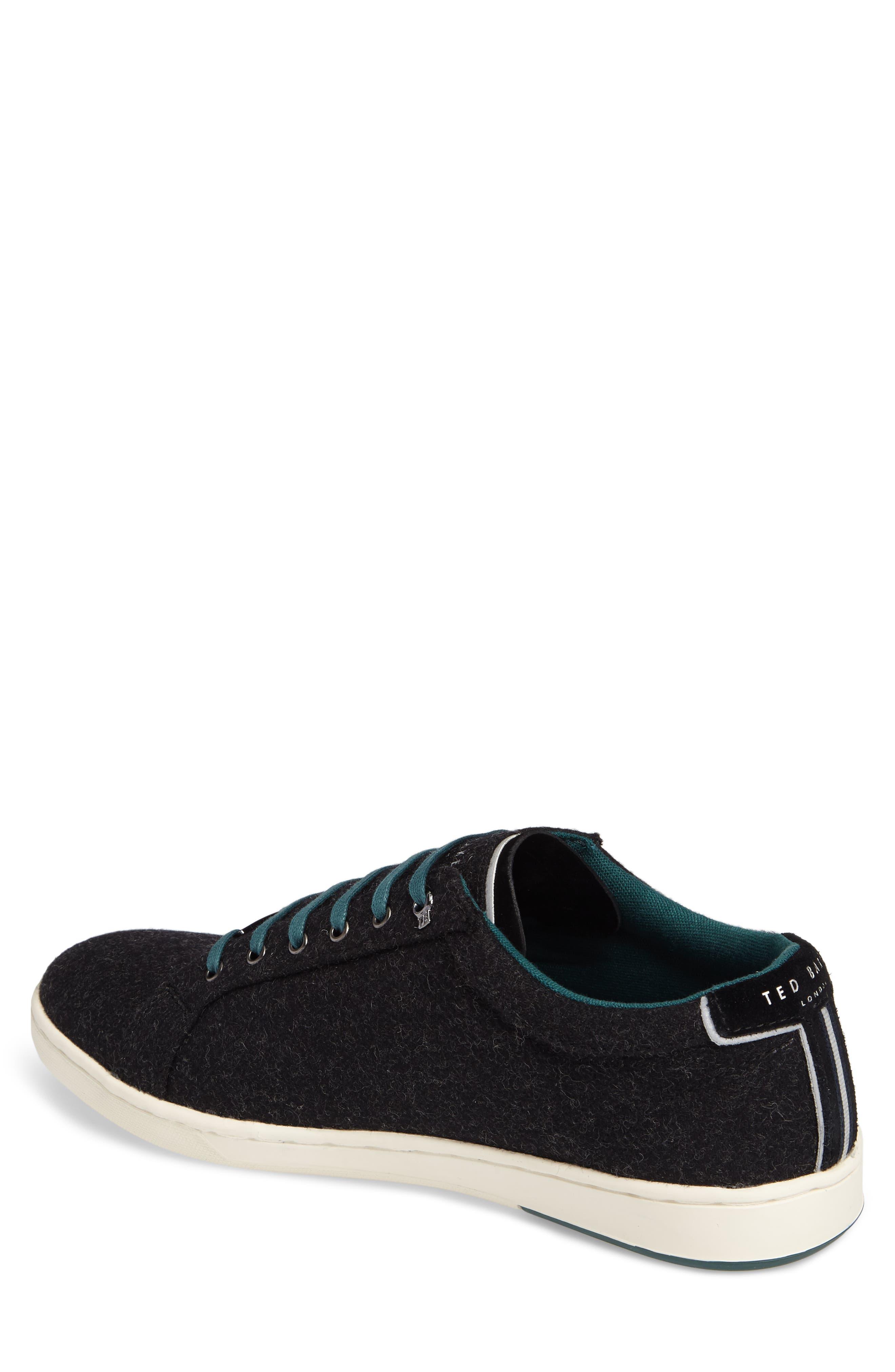 Minem 3 Sneaker,                             Alternate thumbnail 2, color,                             Black Wool