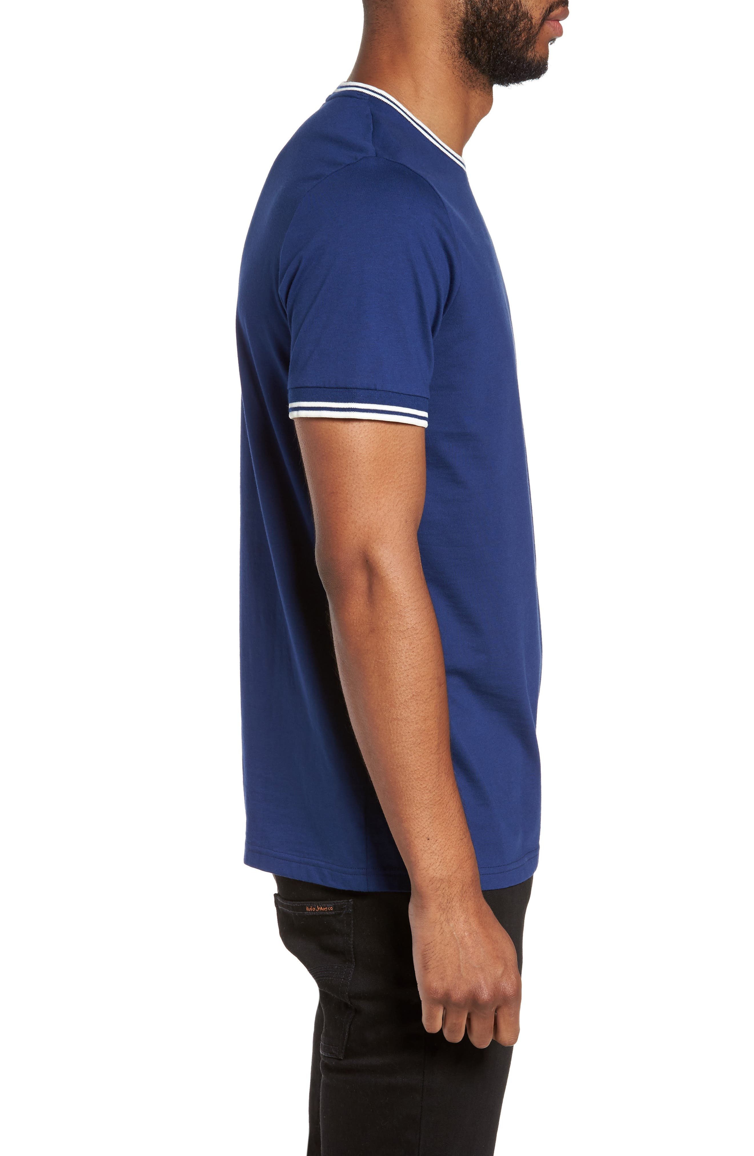 Alternate Image 3  - Fred Perry Contrast Trim T-Shirt