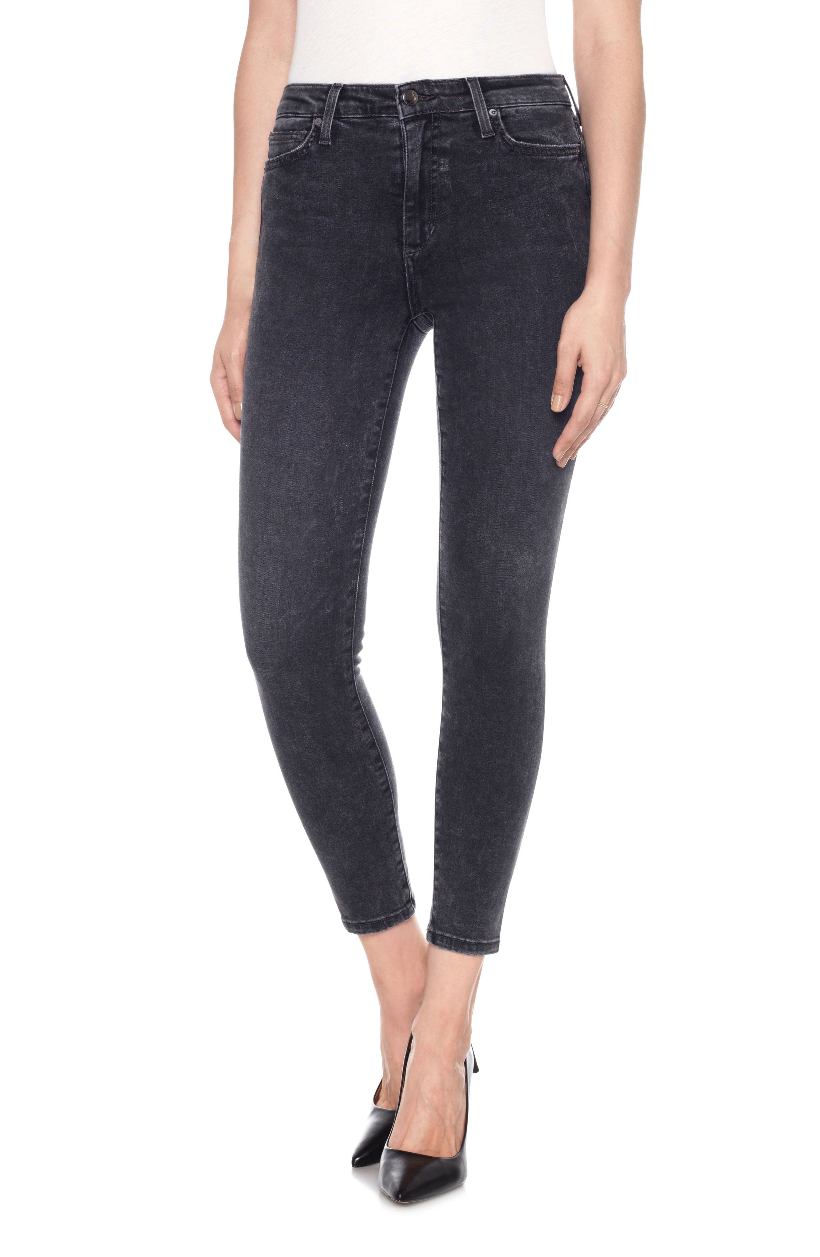 Charlie High Waist Ankle Skinny Jeans,                         Main,                         color, Clare