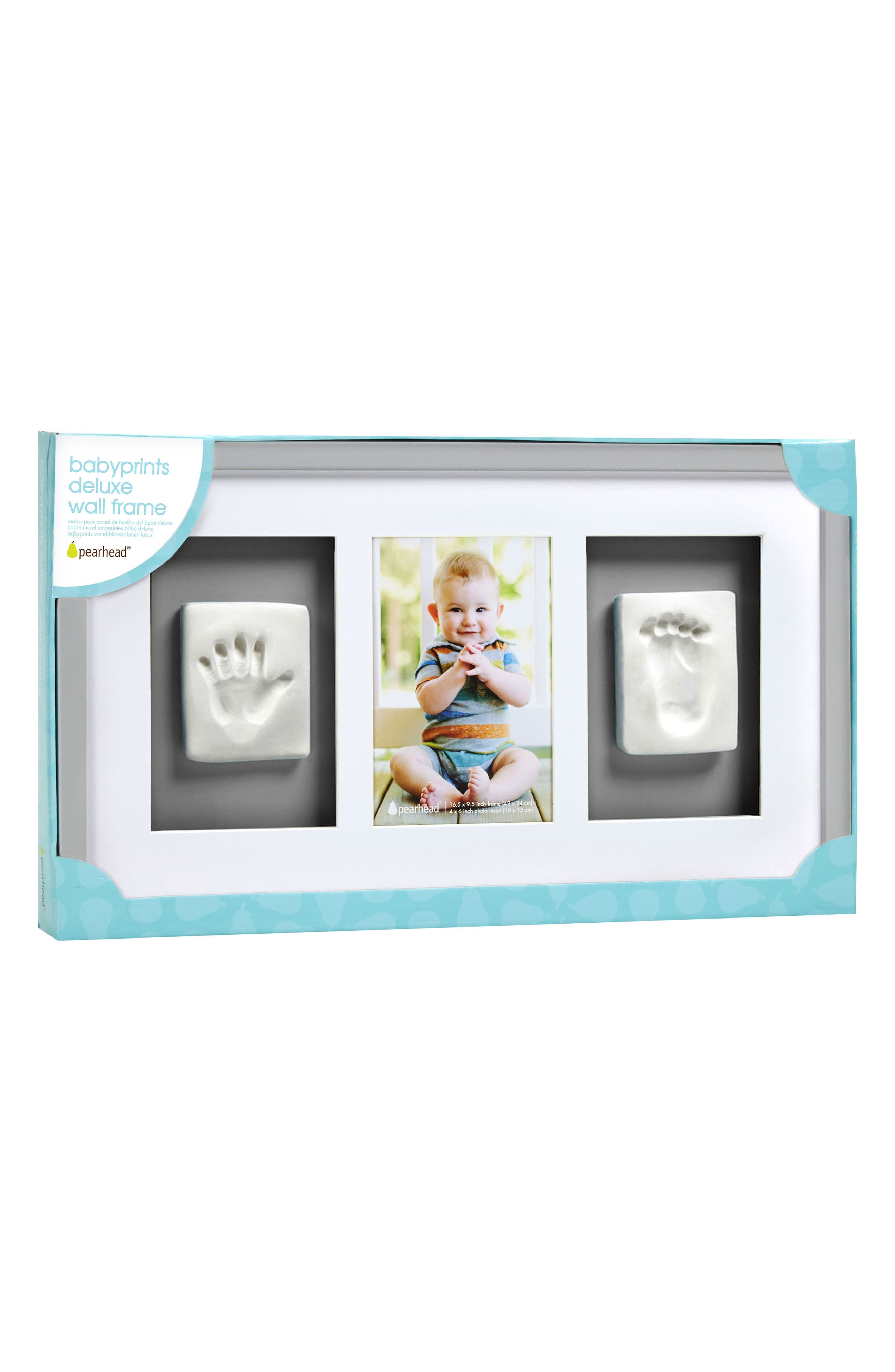 Alternate Image 4  - Pearhead Babyprints Deluxe Wall Frame Kit
