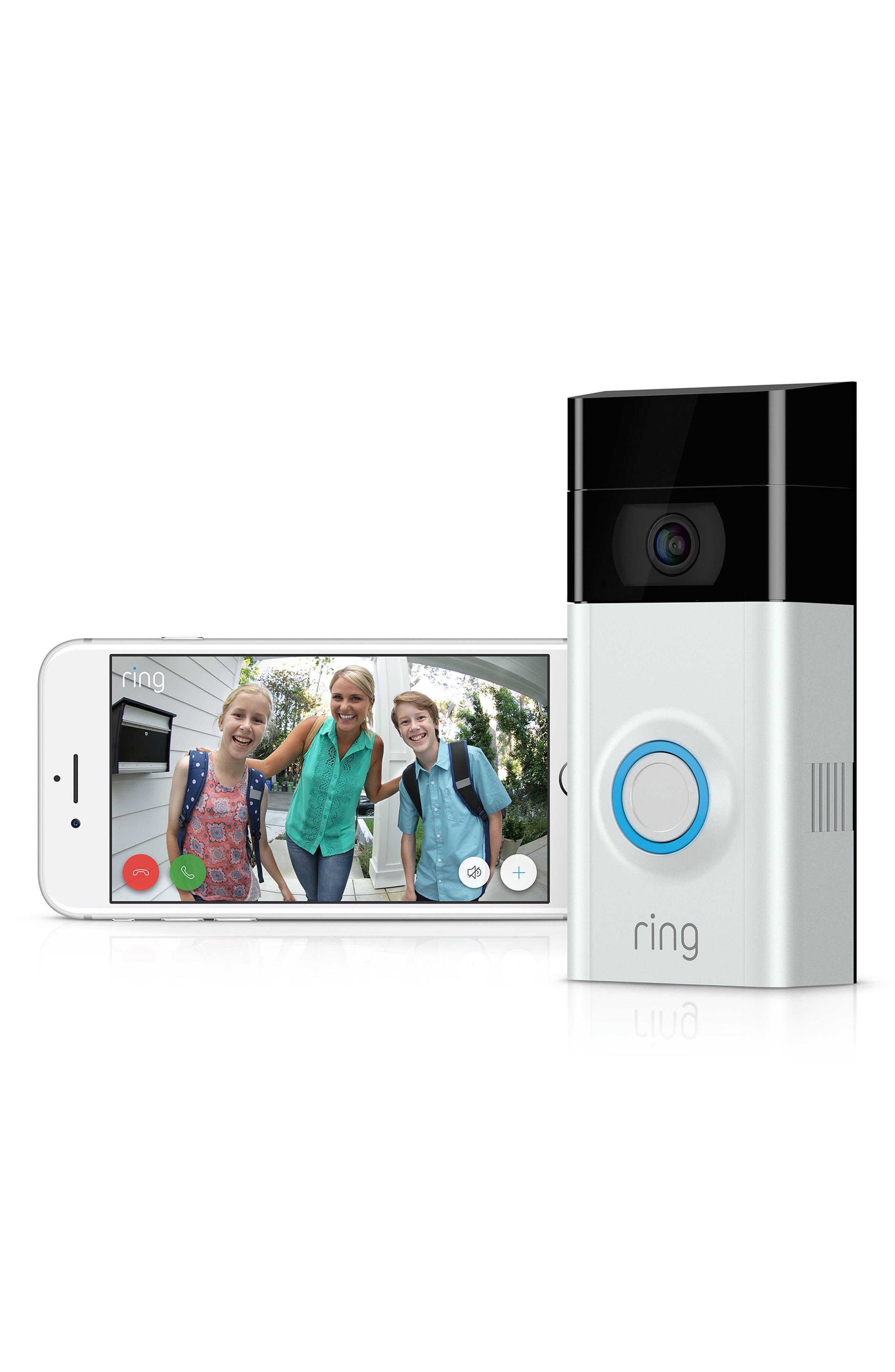 Video Doorbell 2,                             Alternate thumbnail 4, color,                             Satin