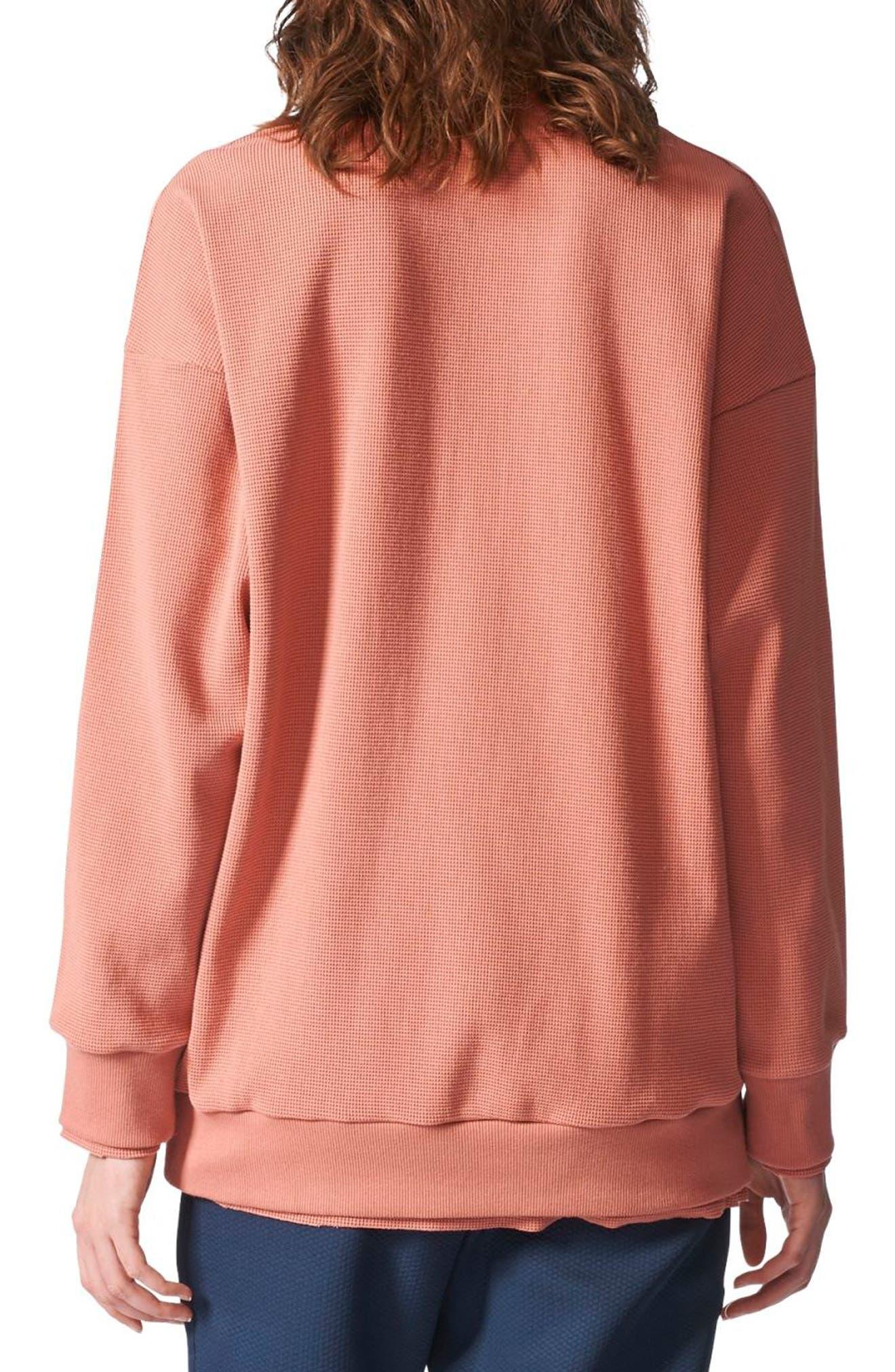 Originals Thermal Sweatshirt,                             Alternate thumbnail 2, color,                             Raw Pink