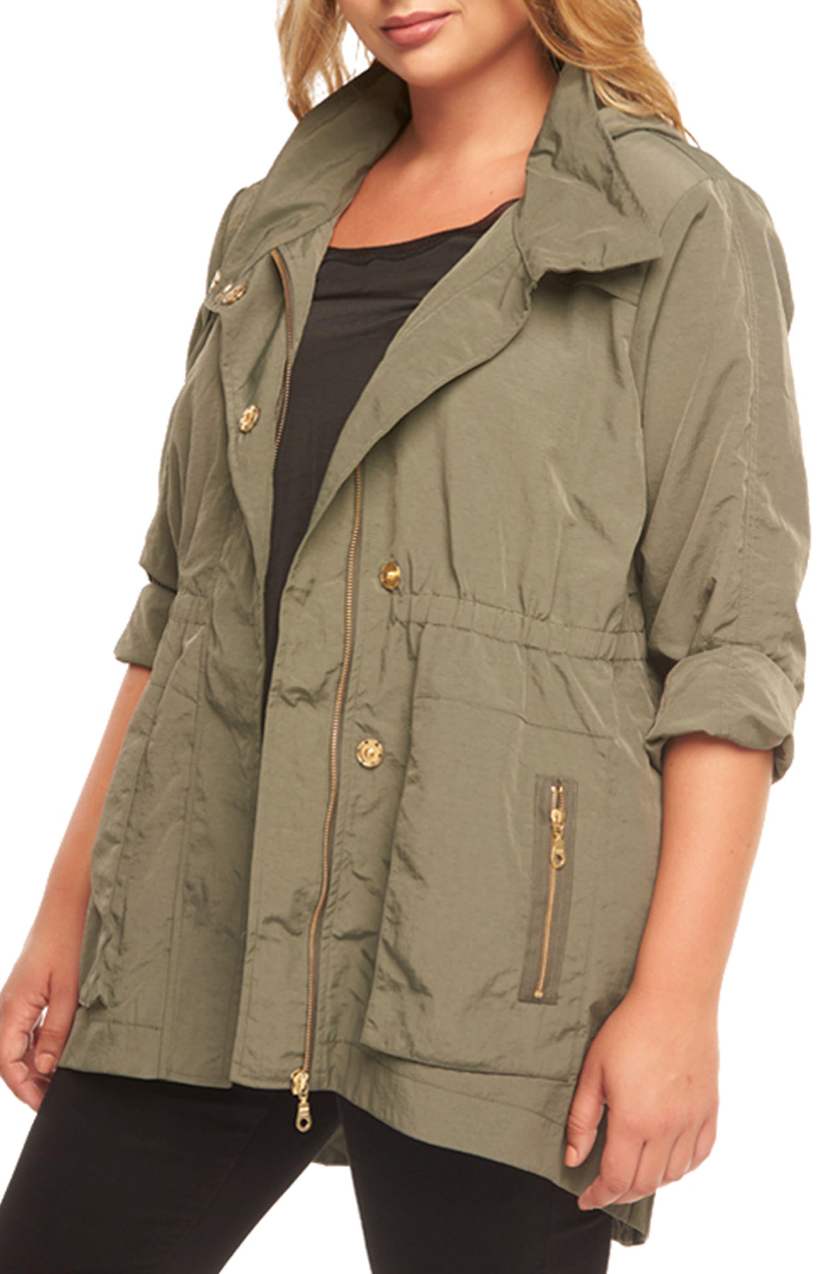 Tart Cory Hooded Utility Jacket (Plus Size)