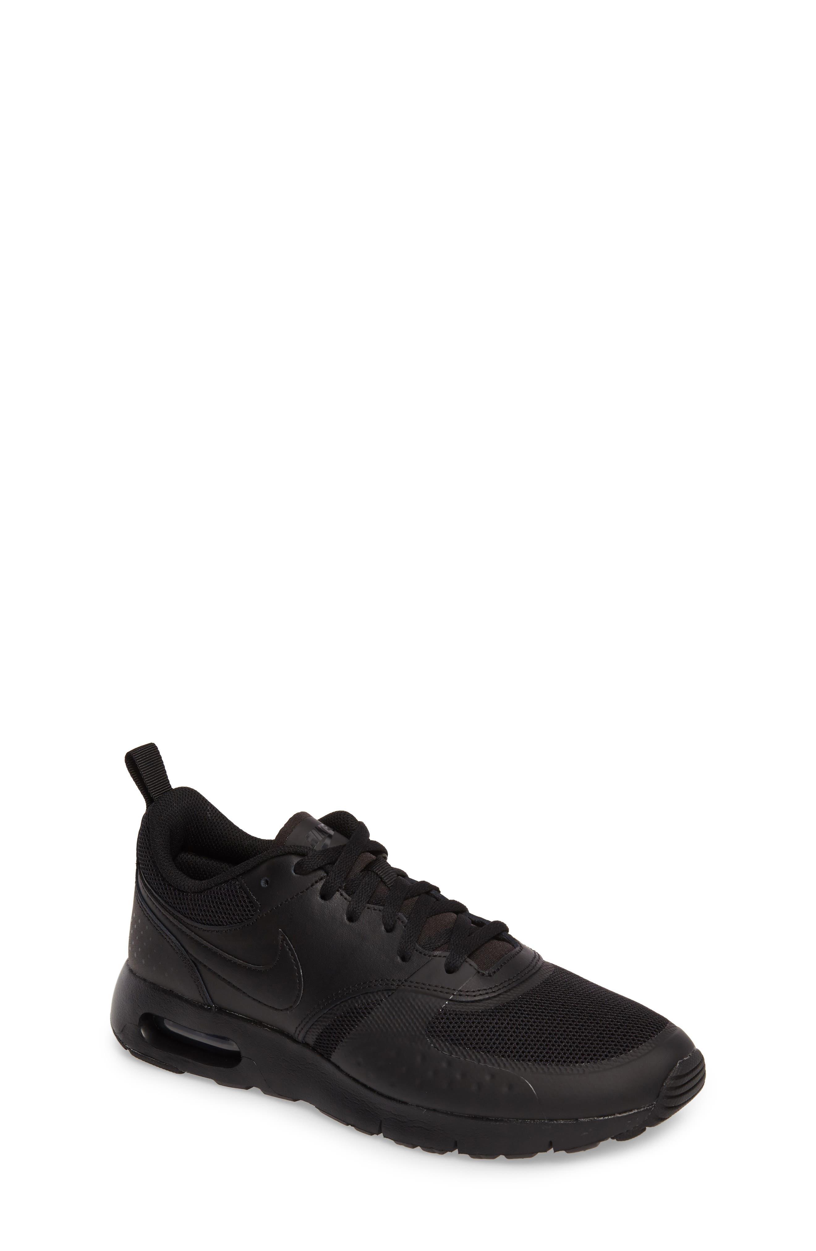 Air Max Vision Sneaker,                             Main thumbnail 1, color,                             Black