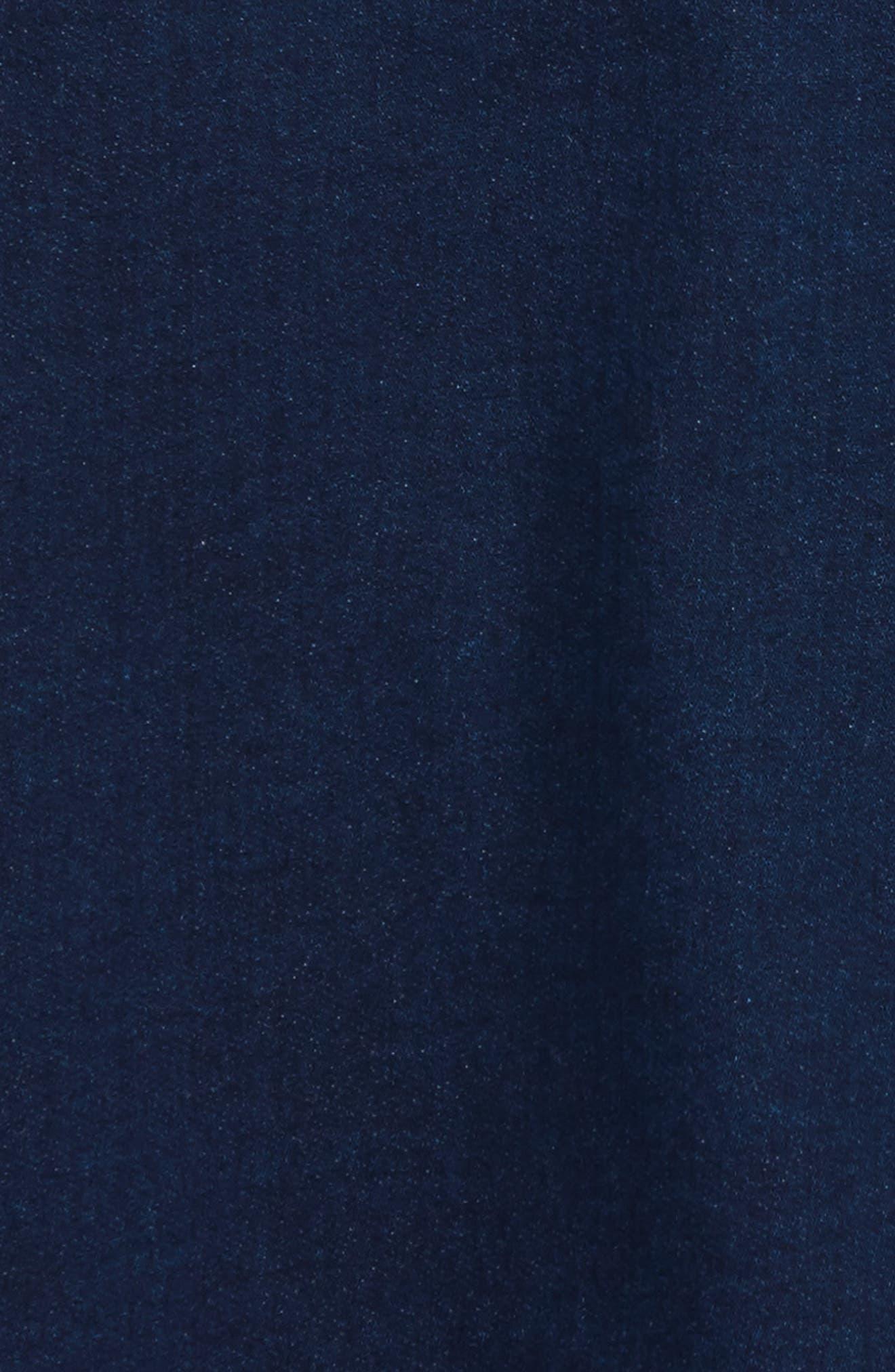 Alternate Image 3  - Gucci Knit Collar Denim Dress (Baby Girls)