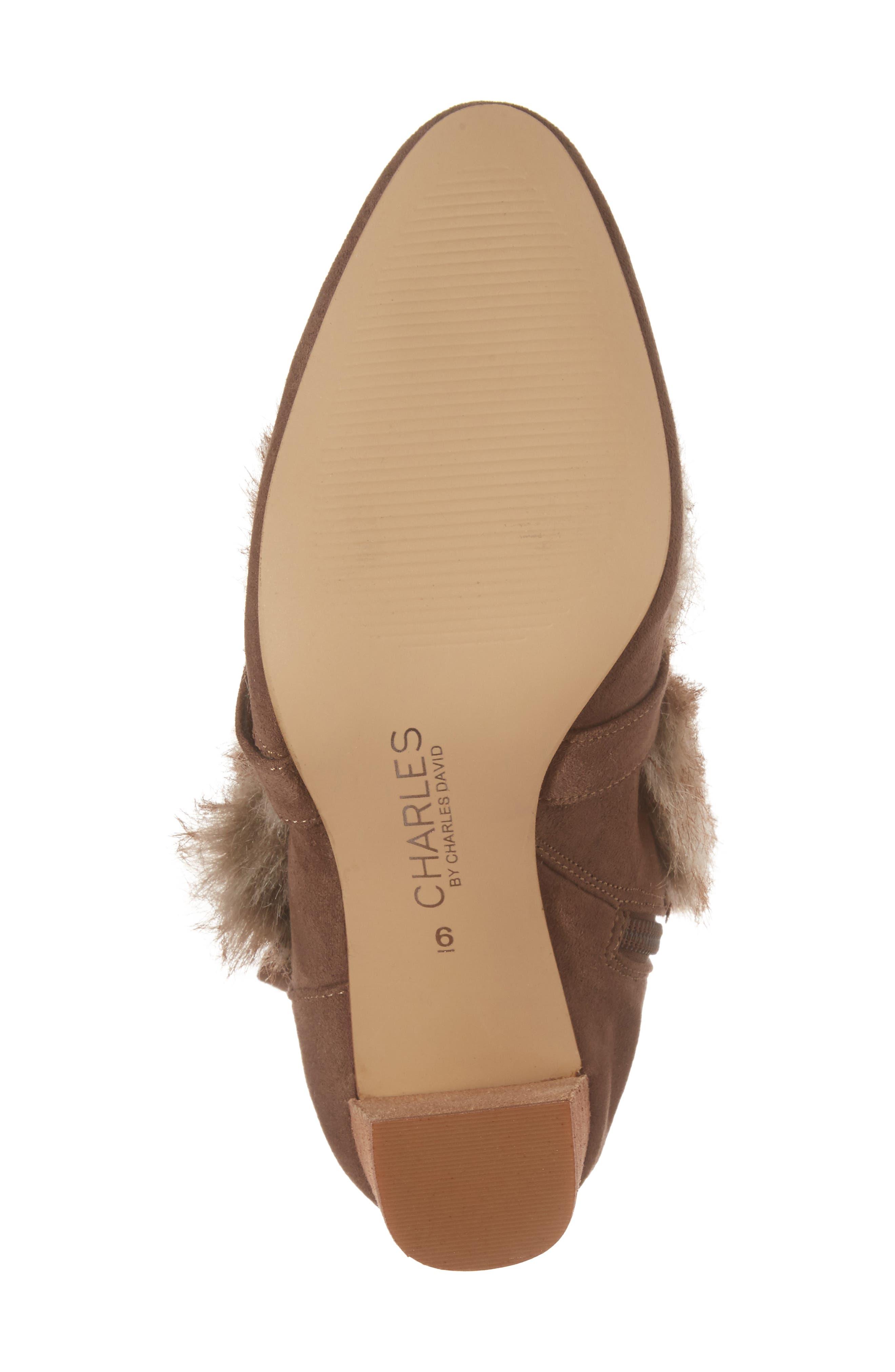 Alternate Image 6  - Charles by Charles David Alberta Faux Fur Boot (Women)